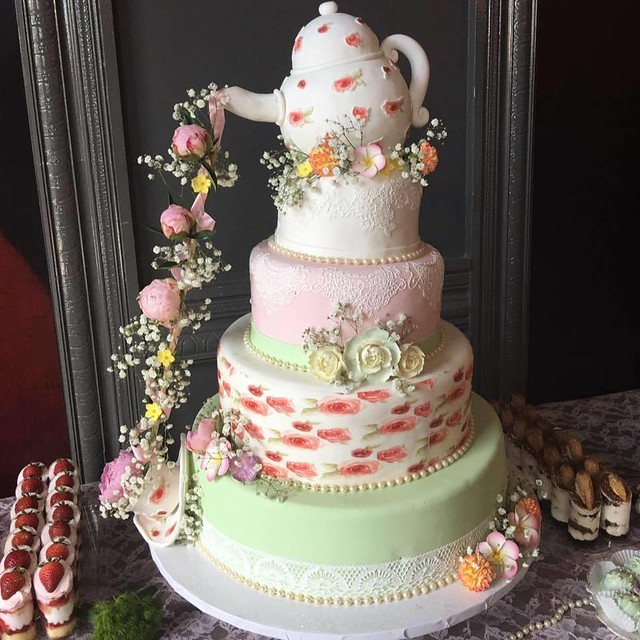 Cake by Elisa's Pastry Shop