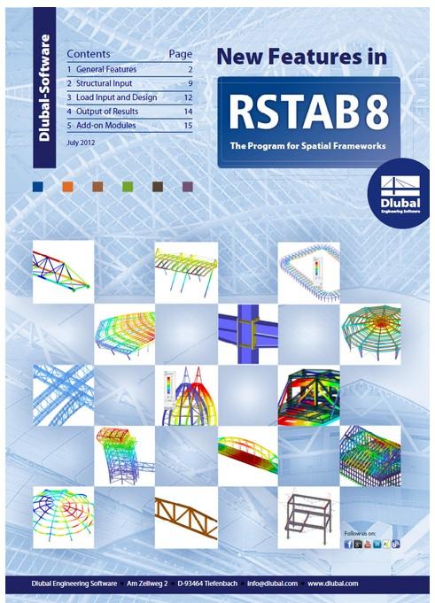 Dlubal RSTAB 8.19.01 x64 full license