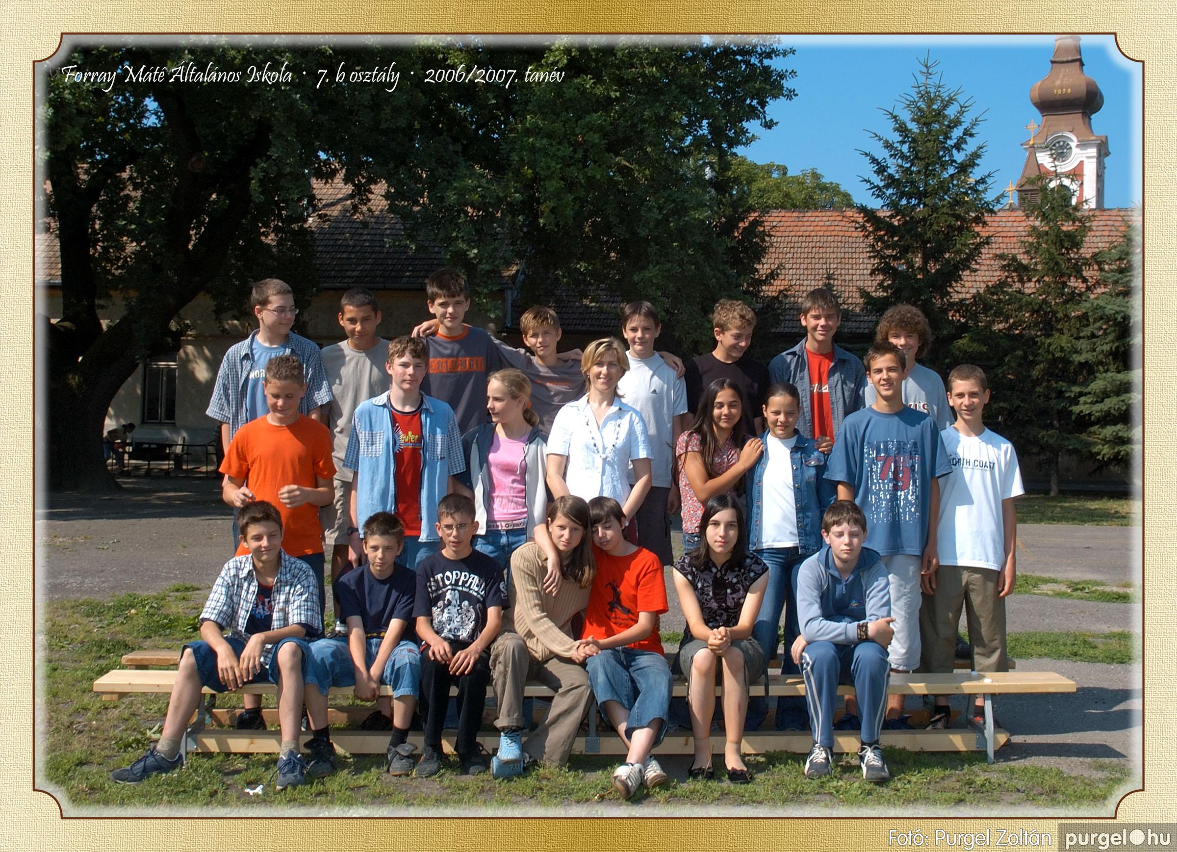 2007.03.20-06.01. 027 Forray Máté Általános Iskola osztályképek 2007. - Fotó:PURGEL ZOLTÁN© 7bvidam.jpg