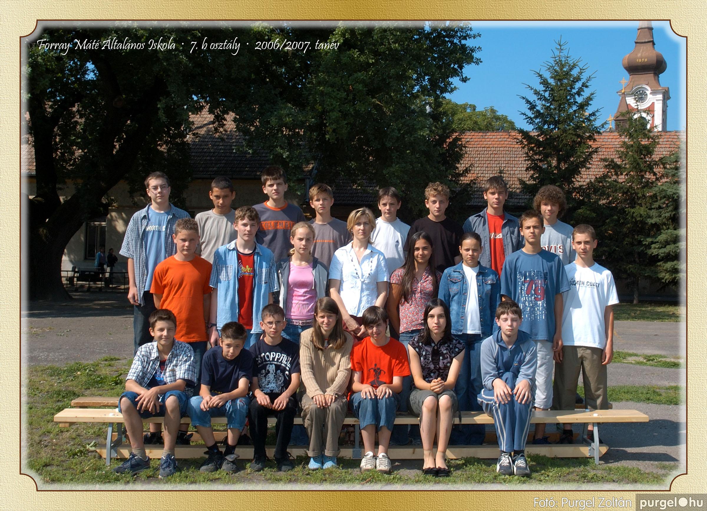 2007.03.20-06.01. 026 Forray Máté Általános Iskola osztályképek 2007. - Fotó:PURGEL ZOLTÁN© 7bkomoly.jpg