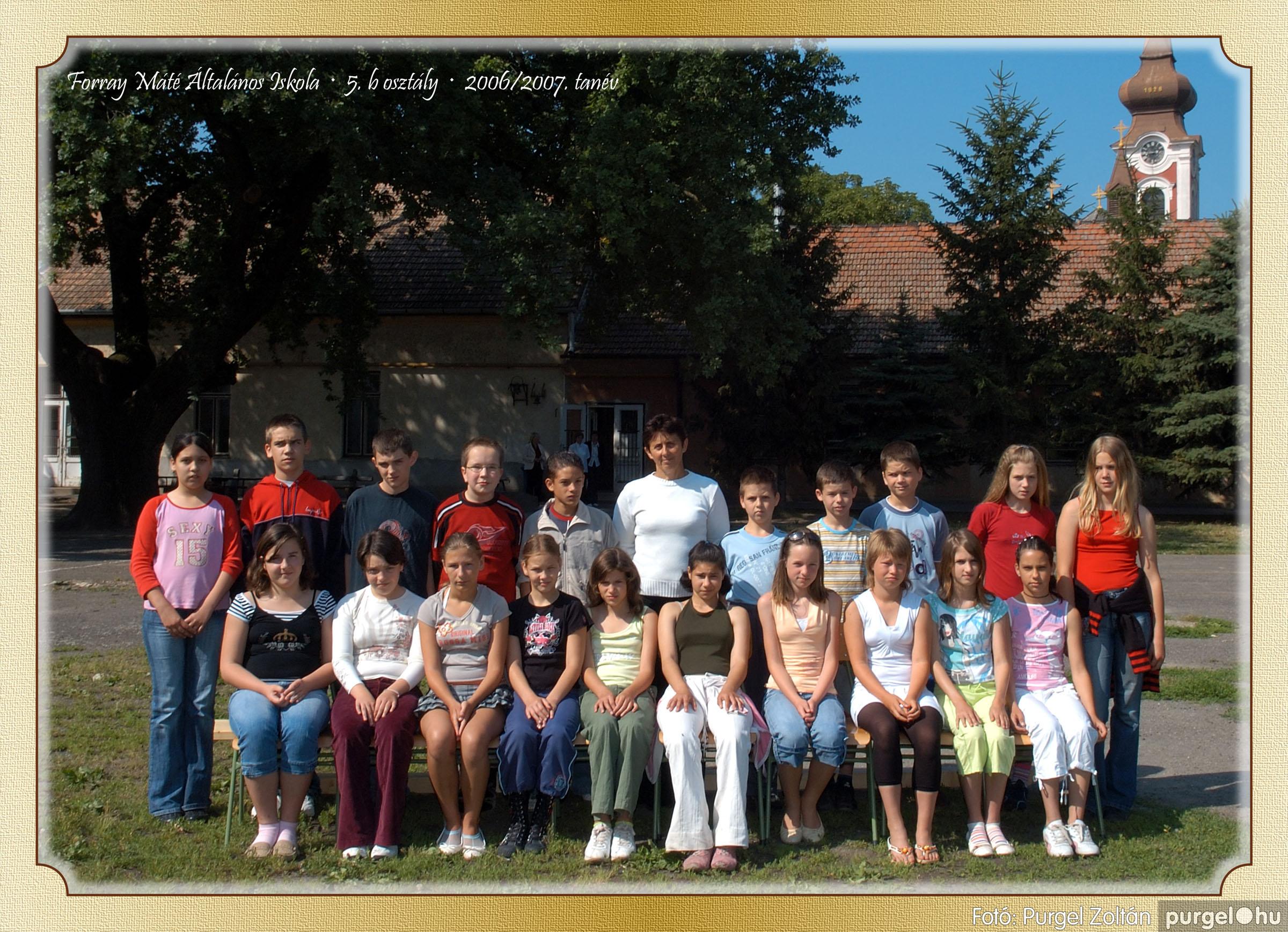 2007.03.20-06.01. 018 Forray Máté Általános Iskola osztályképek 2007. - Fotó:PURGEL ZOLTÁN© 5bkomoly.jpg