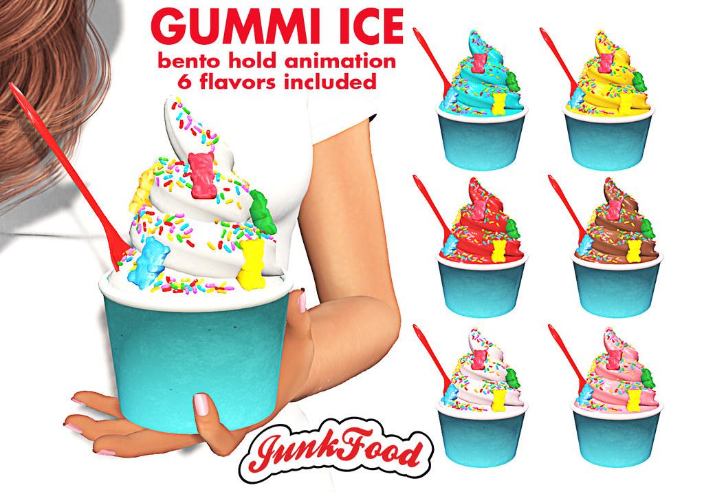 Junk Food – Gummi Ice Ad