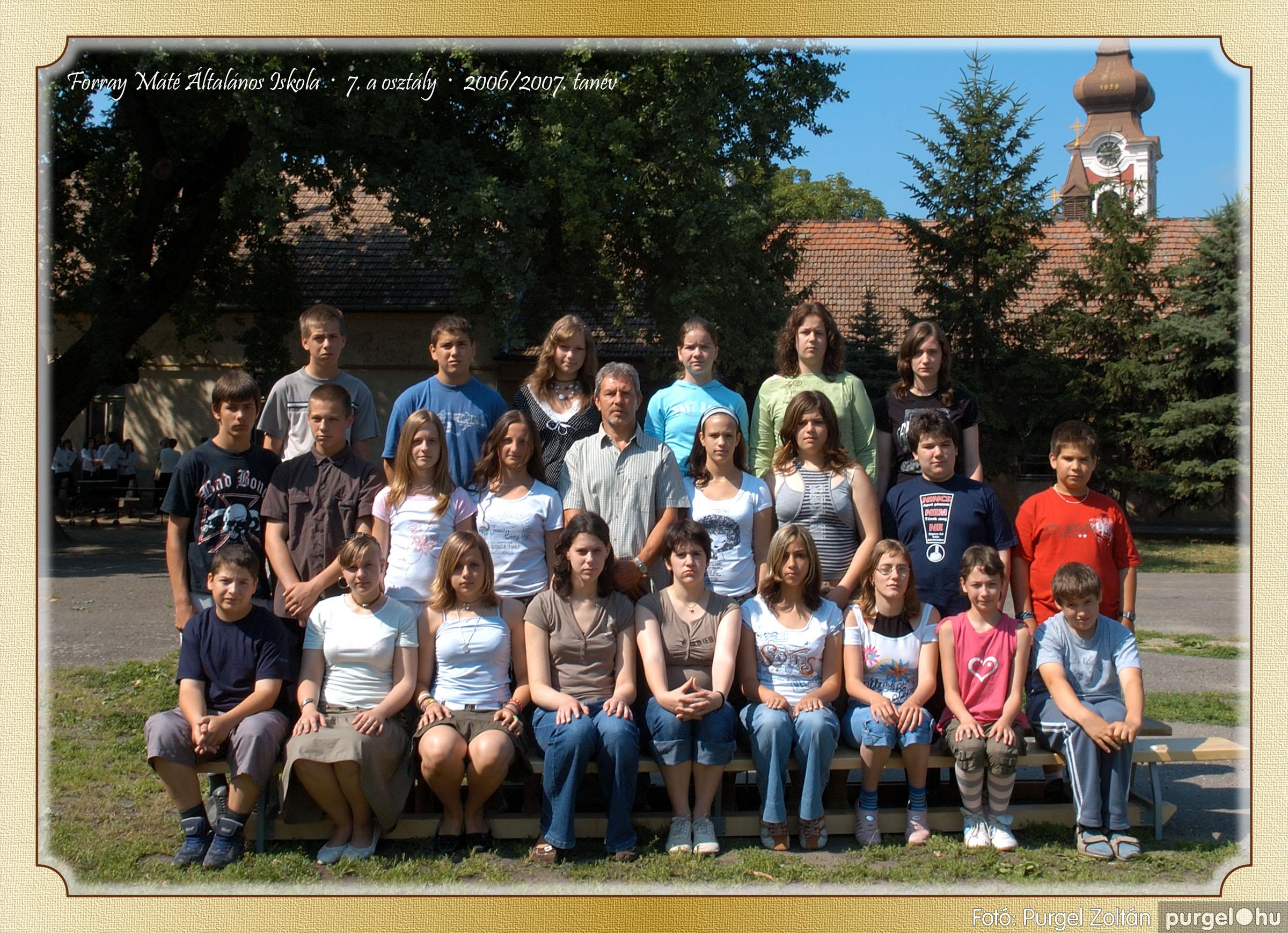 2007.03.20-06.01. 024 Forray Máté Általános Iskola osztályképek 2007. - Fotó:PURGEL ZOLTÁN© 7akomoly.jpg