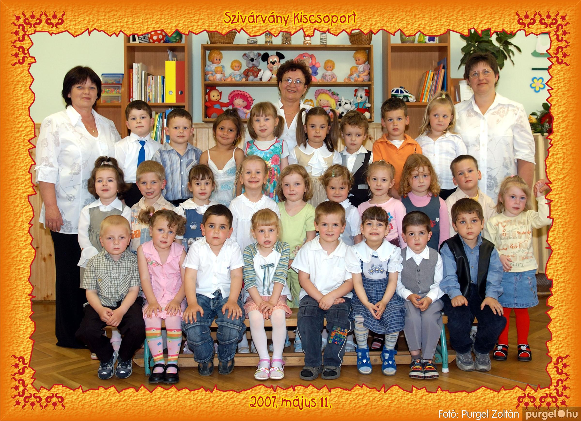 2007.05.10-19. 025 Kurca-parti Óvoda csoportképek 2007. - Fotó:PURGEL ZOLTÁN© 653szivárvány.jpg