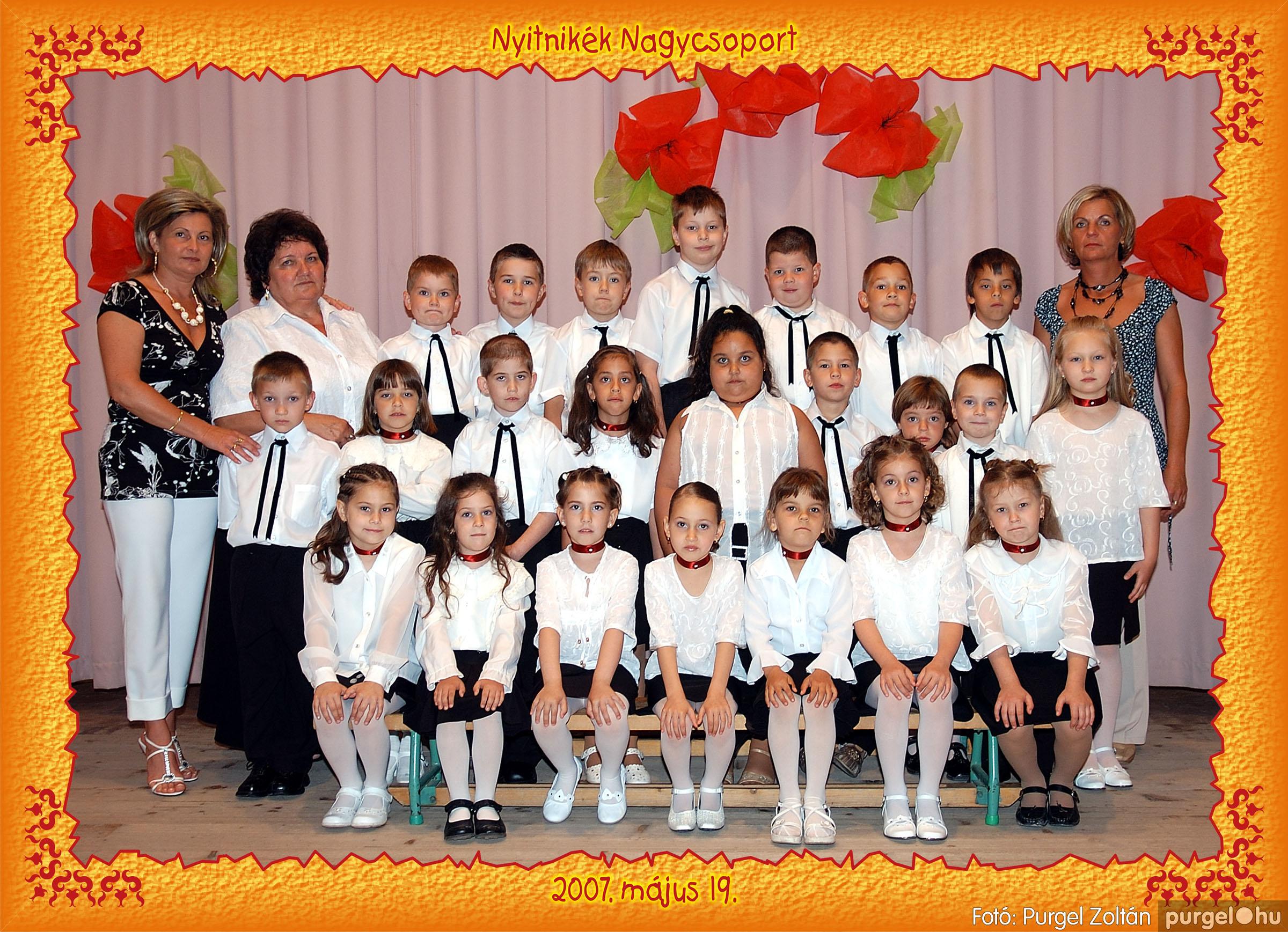 2007.05.10-19. 020 Kurca-parti Óvoda csoportképek 2007. - Fotó:PURGEL ZOLTÁN© 553Nyitnikék.jpg