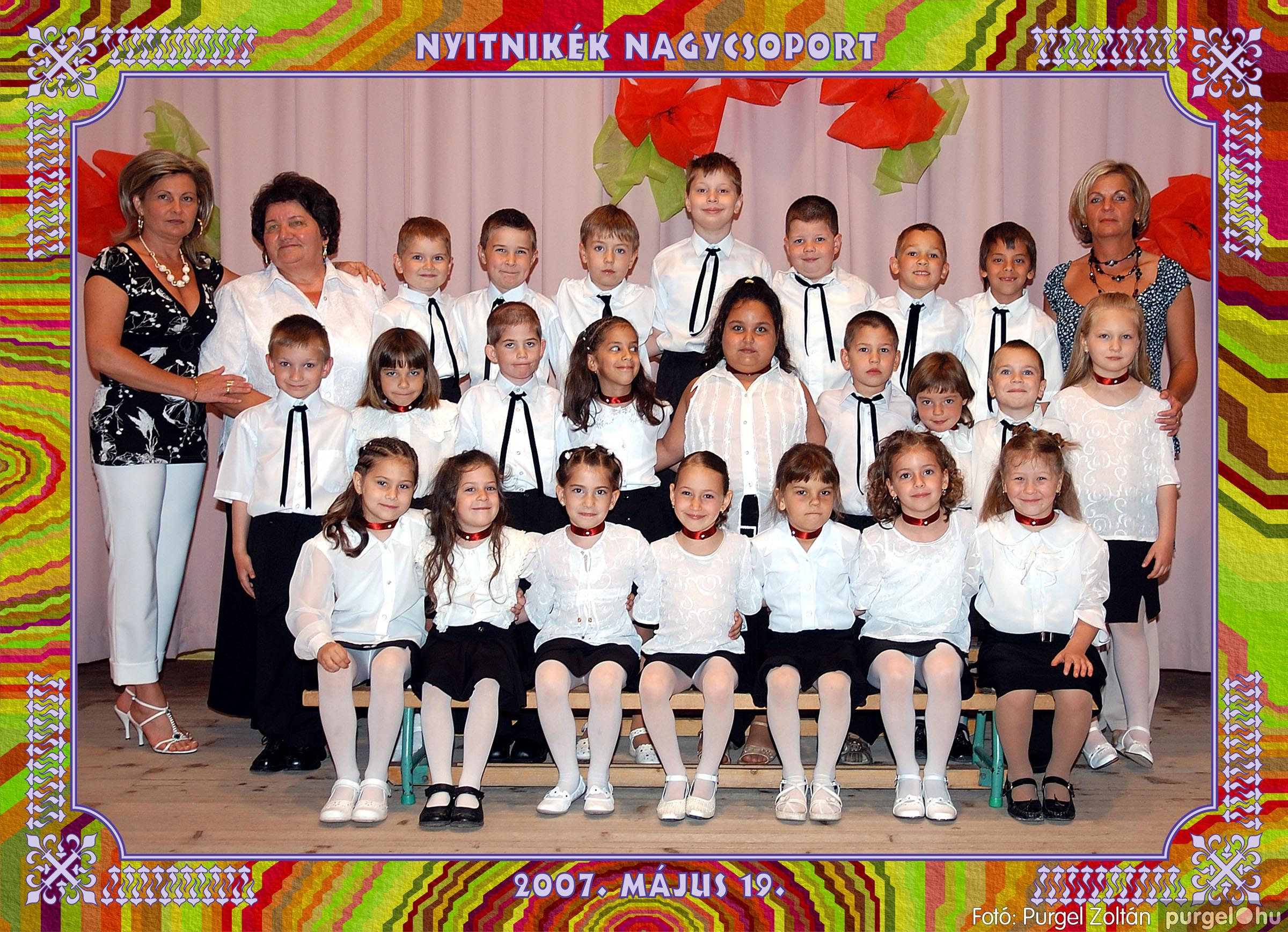 2007.05.10-19. 019 Kurca-parti Óvoda csoportképek 2007. - Fotó:PURGEL ZOLTÁN© 552Nyitnikék.jpg