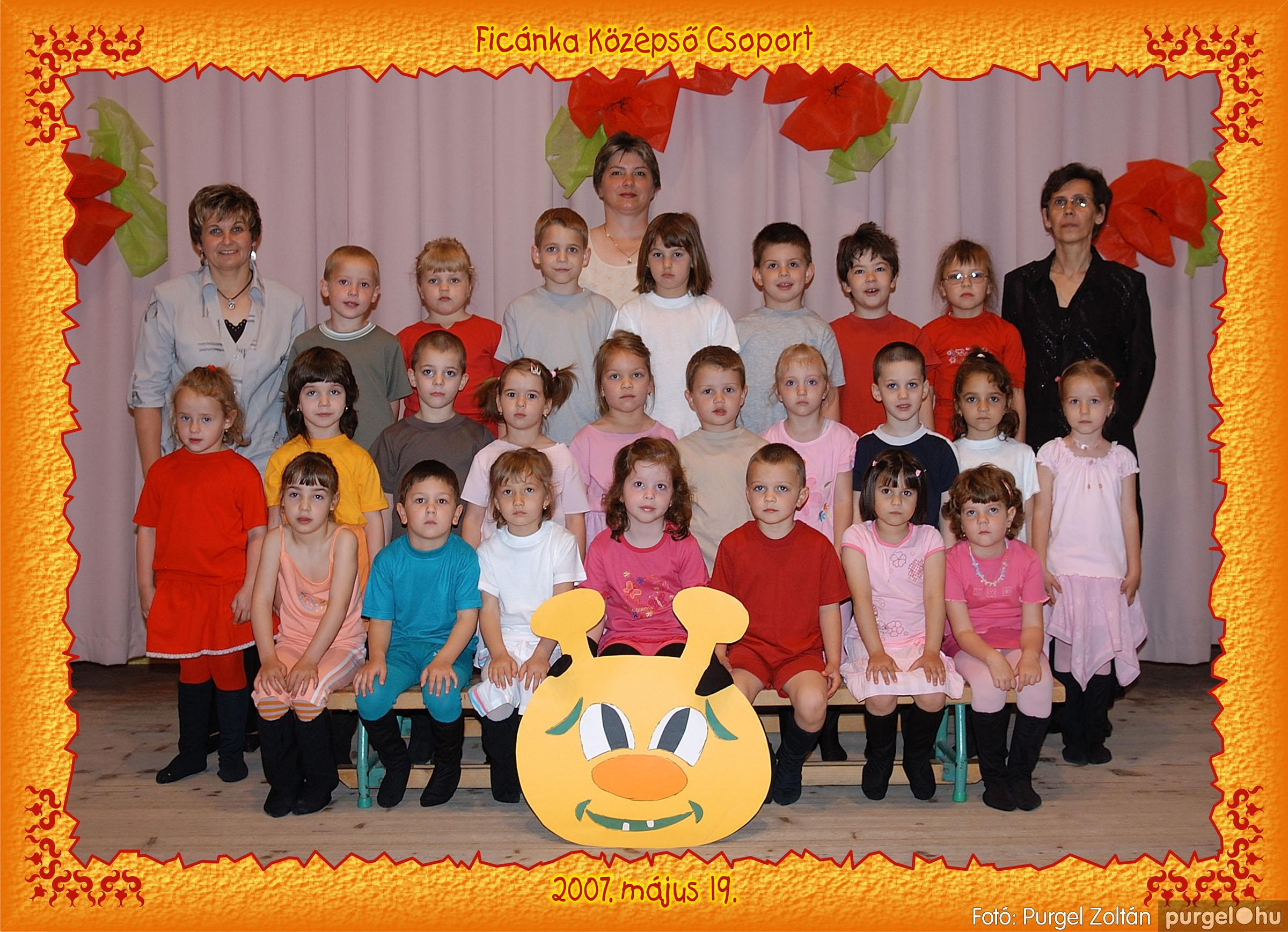 2007.05.10-19. 007 Kurca-parti Óvoda csoportképek 2007. - Fotó:PURGEL ZOLTÁN© 253Ficánka.jpg