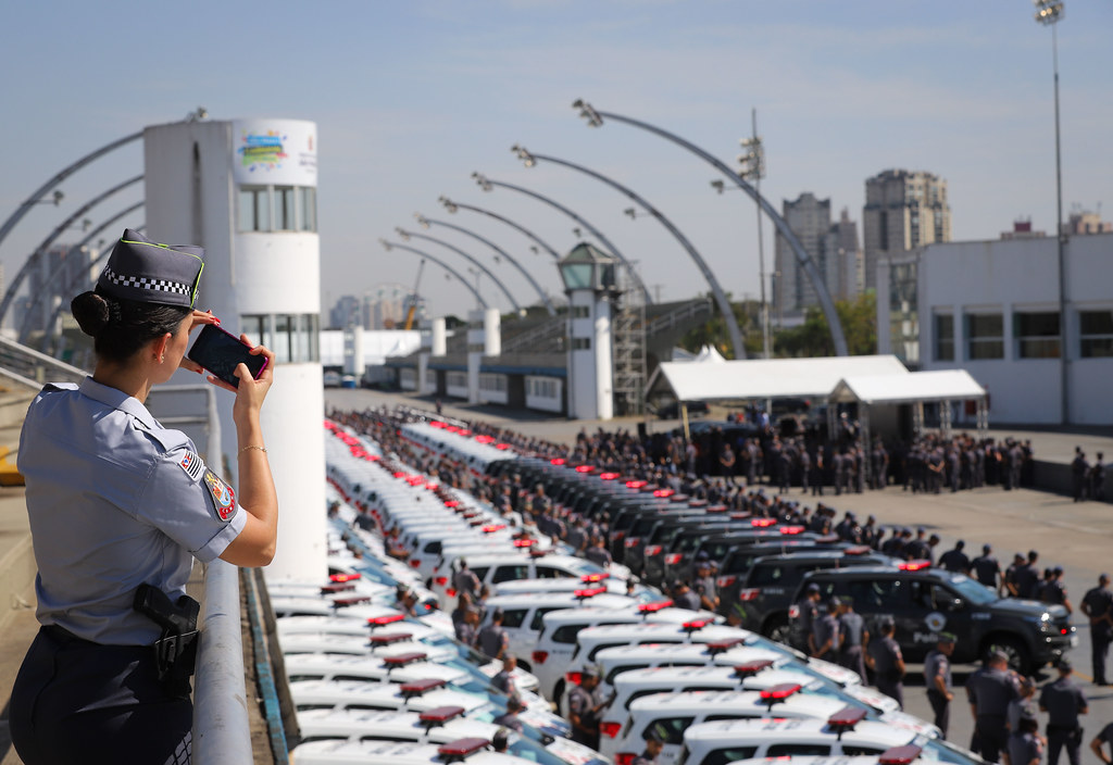 Entrega de novas viaturas à PM do Estado de São Paulo