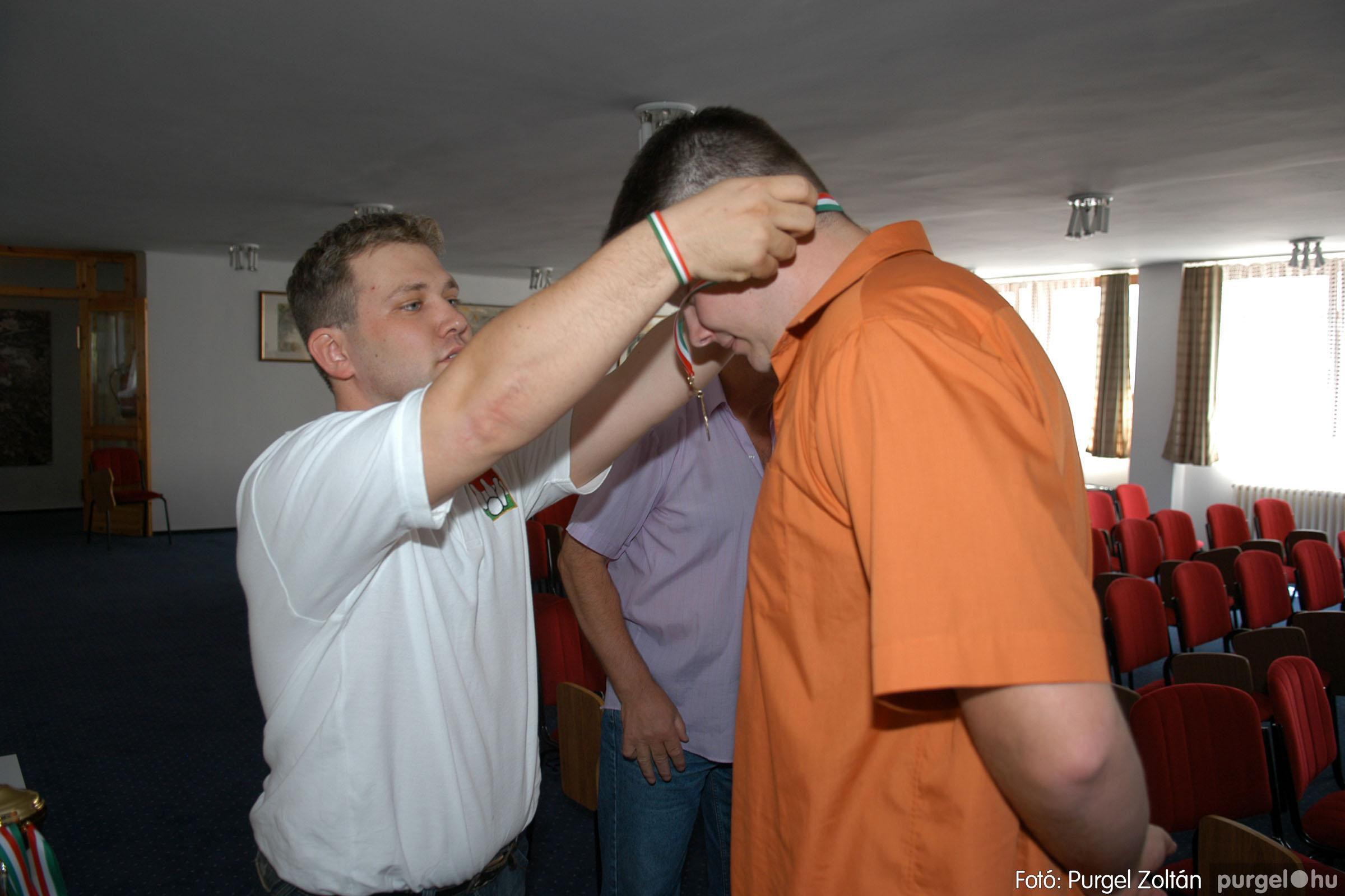 2007.06.02. 042 Éremátadás a Szegvári Teke Sportegyesület tagjainak Balatonszemesen - Fotó:P. Z.©.jpg