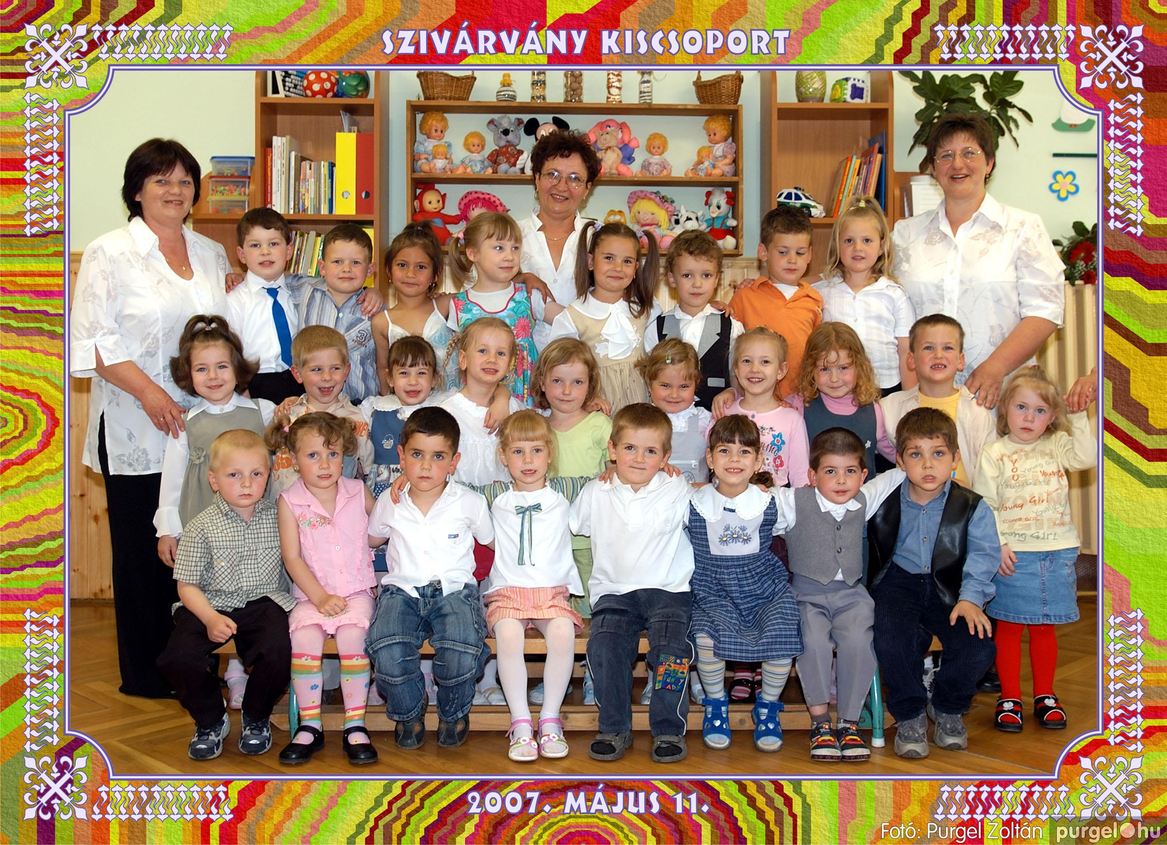 2007.05.10-19. 024 Kurca-parti Óvoda csoportképek 2007. - Fotó:PURGEL ZOLTÁN© 652szivárvány.jpg