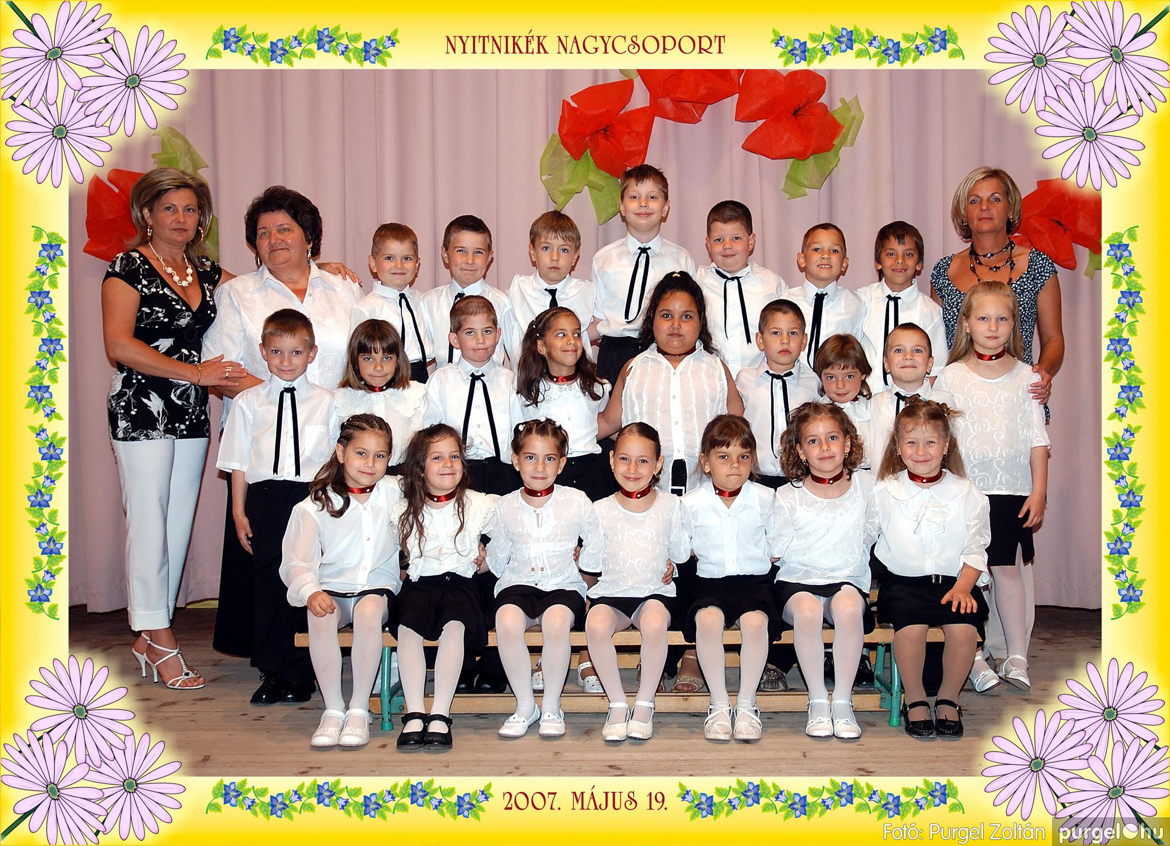 2007.05.10-19. 018 Kurca-parti Óvoda csoportképek 2007. - Fotó:PURGEL ZOLTÁN© 551Nyitnikék.jpg