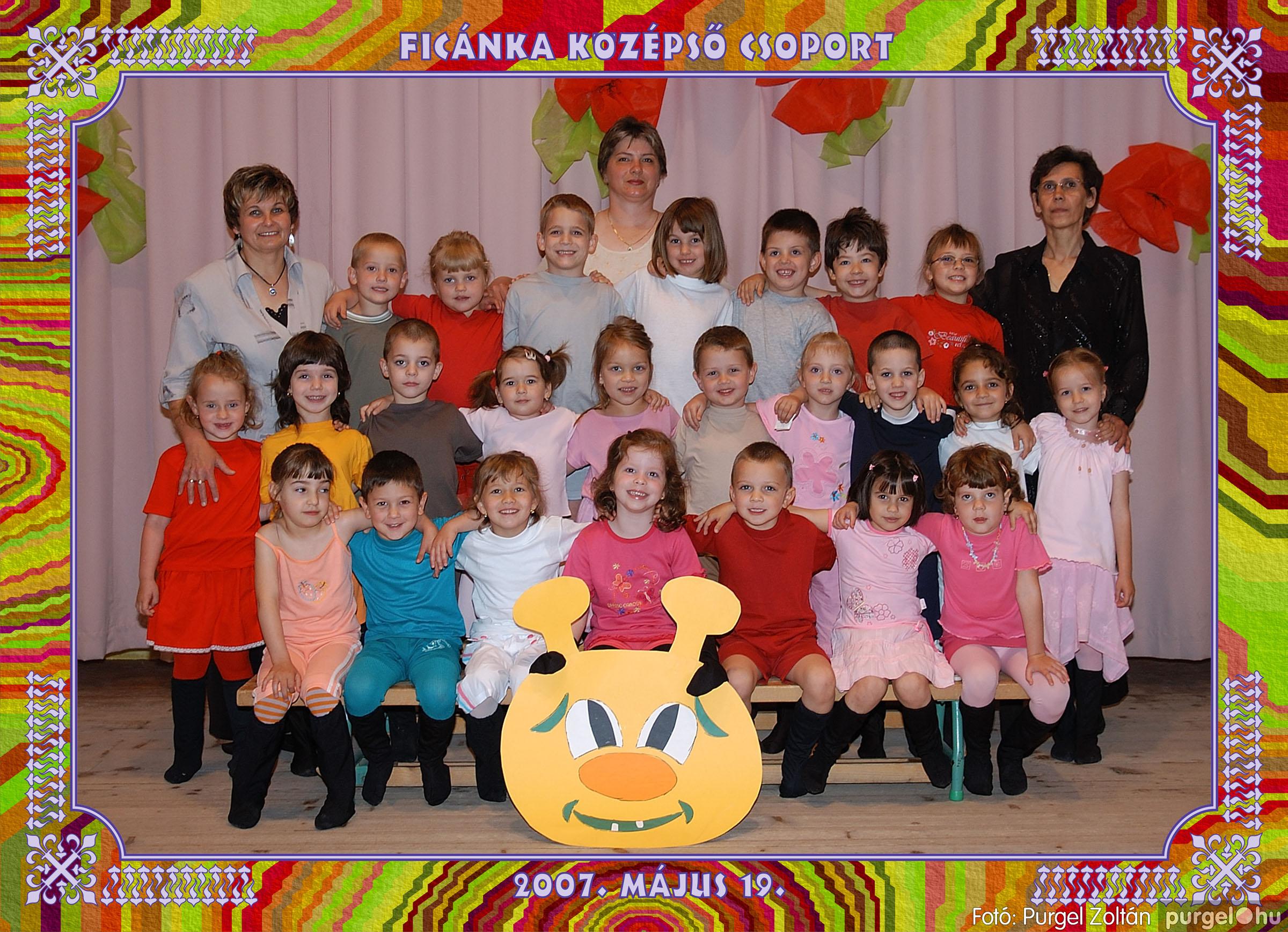 2007.05.10-19. 006 Kurca-parti Óvoda csoportképek 2007. - Fotó:PURGEL ZOLTÁN© 252Ficánka.jpg