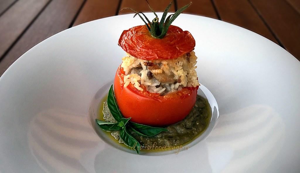 Pomodori ripieni - Stuffed tomatoes