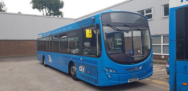 Plymouth Citybus 101 (WA12ACO)