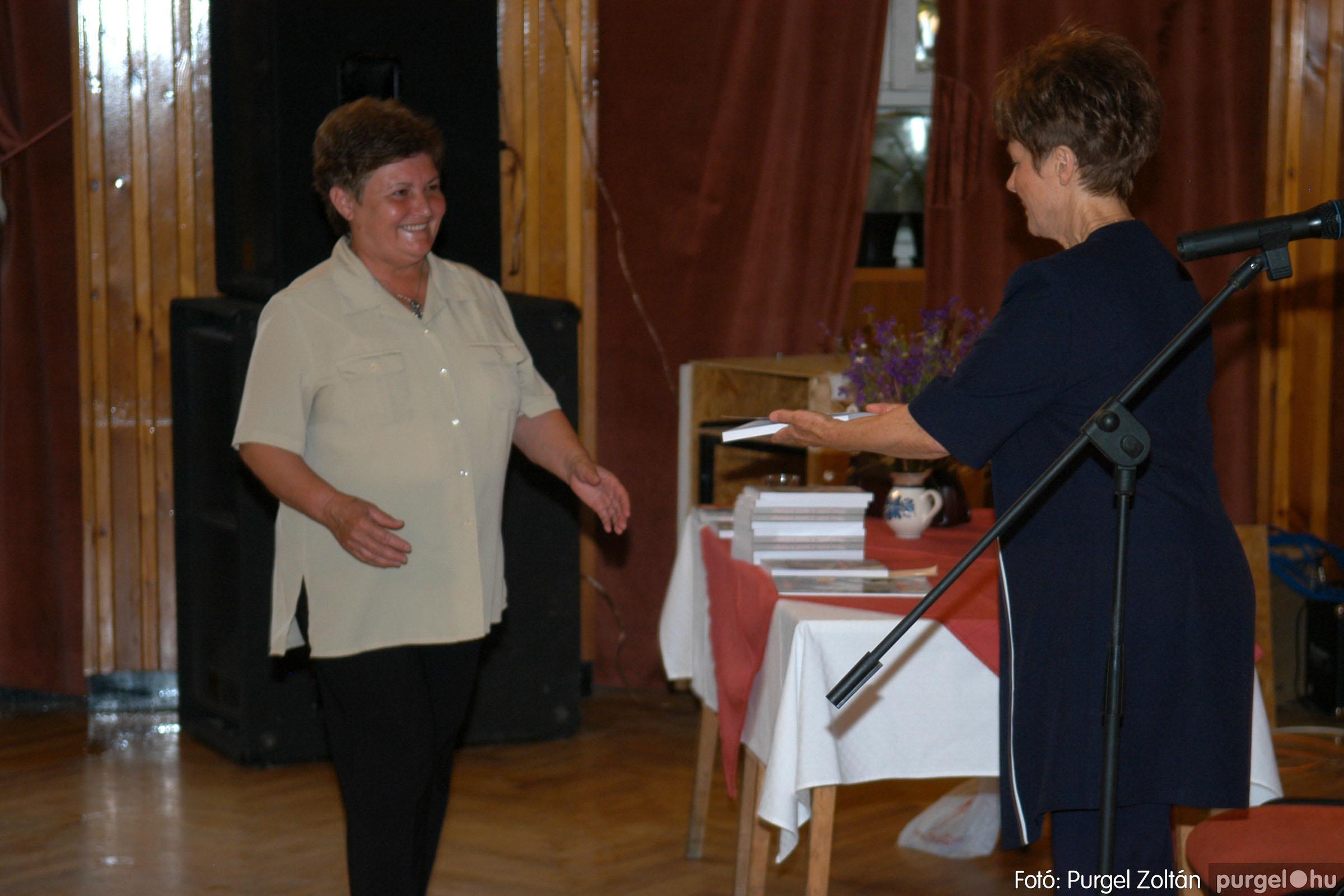 2007.06.03. 062 A tanító öröksége című könyv bemutatása Vértes Judittal - Fotó:PURGEL ZOLTÁN© DSC_0537q.jpg