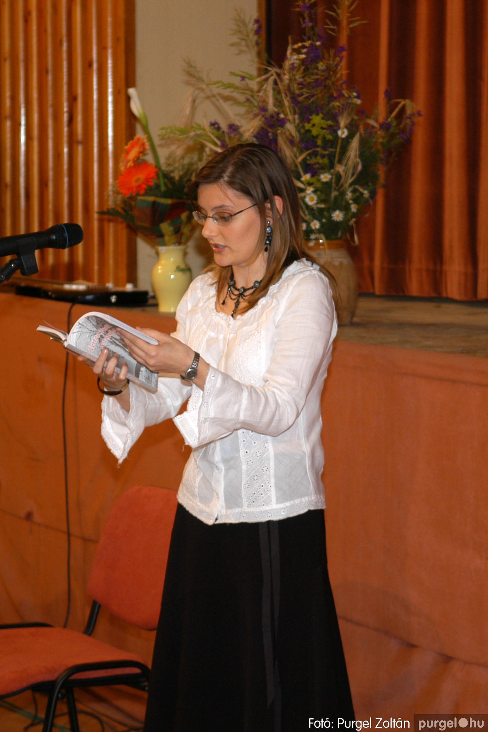 2007.06.03. 031 A tanító öröksége című könyv bemutatása Vértes Judittal - Fotó:PURGEL ZOLTÁN© DSC_0499q.jpg