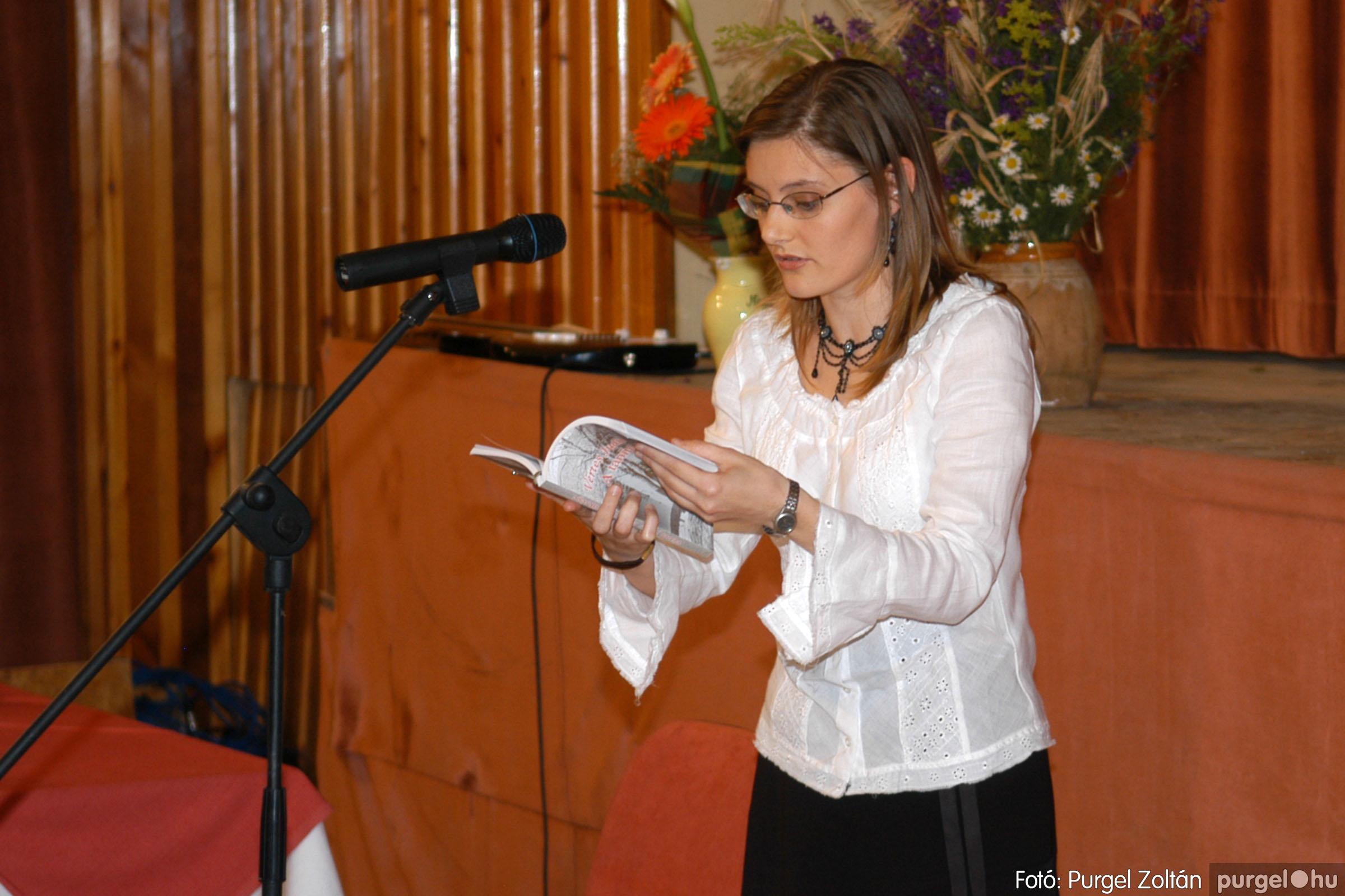 2007.06.03. 030 A tanító öröksége című könyv bemutatása Vértes Judittal - Fotó:PURGEL ZOLTÁN© DSC_0498q.jpg