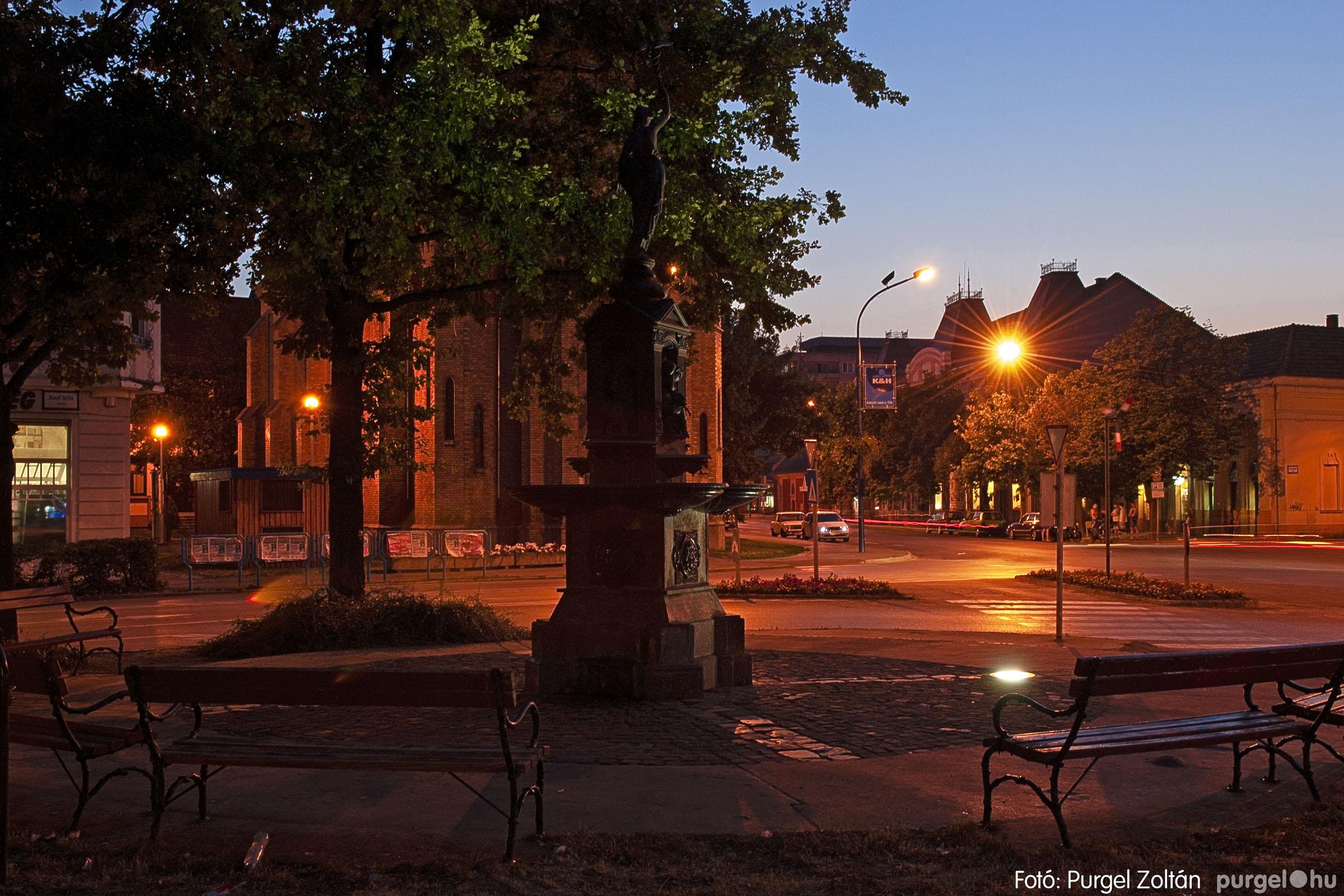 2007.07.18. 004 Szentes esti fényekben - Fotó:PURGEL ZOLTÁN© DSC_0194q.jpg