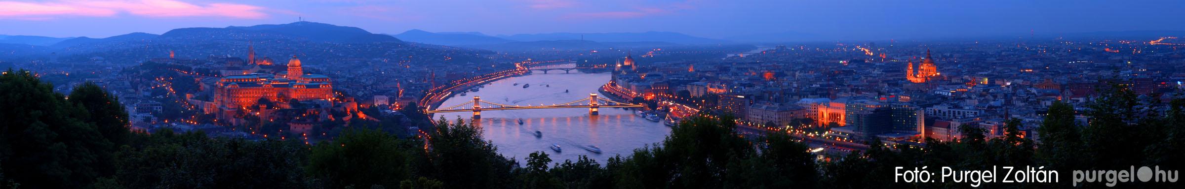 038 Örök pillanatok fotókiállításom képei - BudapESTI panoráma · BudapEVENING panorama - Fotó:PURGEL ZOLTÁN©.jpg