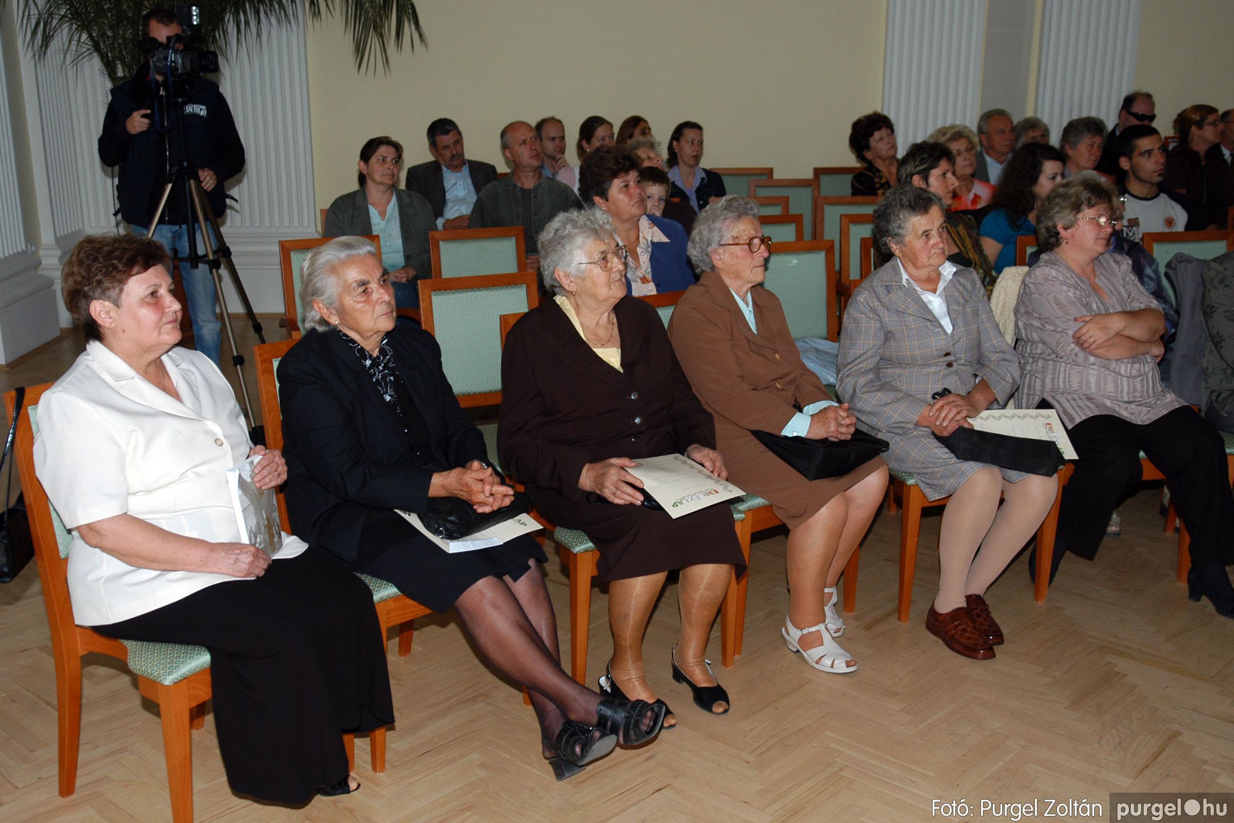 2007.09.30. 007 A tanító öröksége című könyv bemutatója Szentesen - Fotó:PURGEL ZOLTÁN© DSC_0270q.jpg