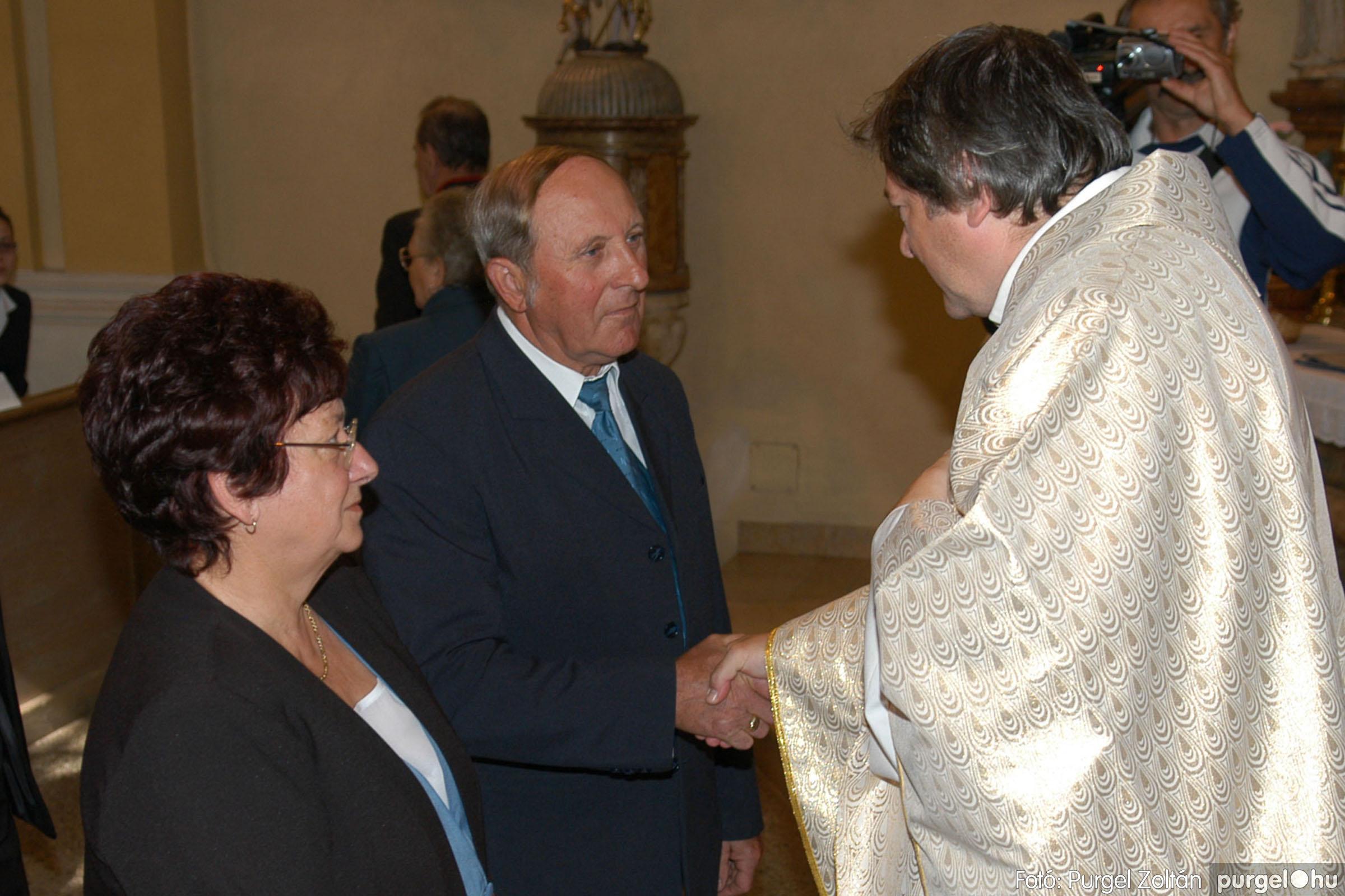 2007.09.30. 055 Kisboldogasszony Templom házassági évfordulók - Fotó:PURGEL ZOLTÁN© DSC_0167q.jpg