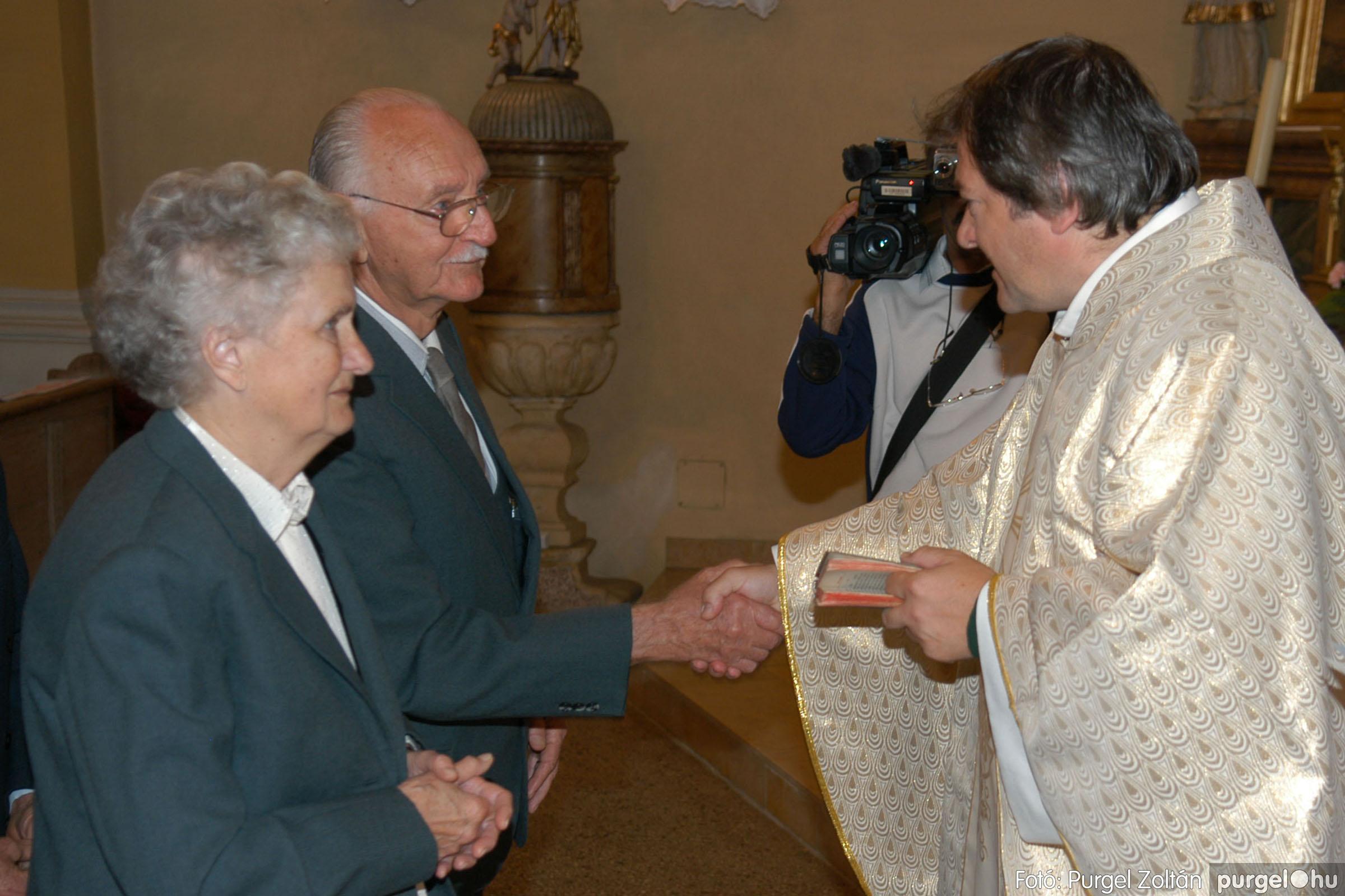 2007.09.30. 025 Kisboldogasszony Templom házassági évfordulók - Fotó:PURGEL ZOLTÁN© DSC_0137q.jpg