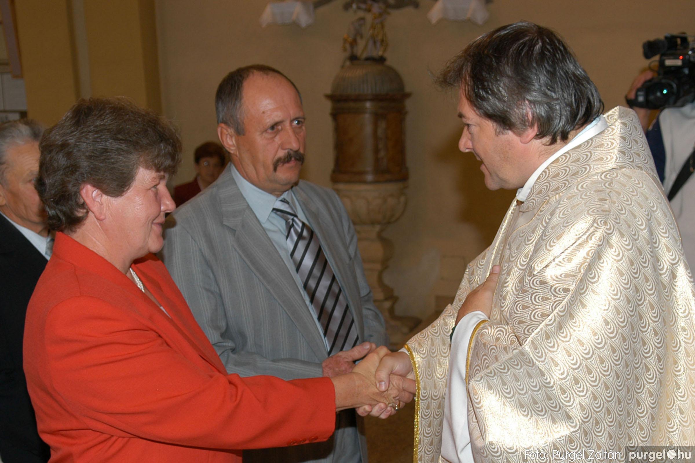 2007.09.30. 095 Kisboldogasszony Templom házassági évfordulók - Fotó:PURGEL ZOLTÁN© DSC_0216q.jpg