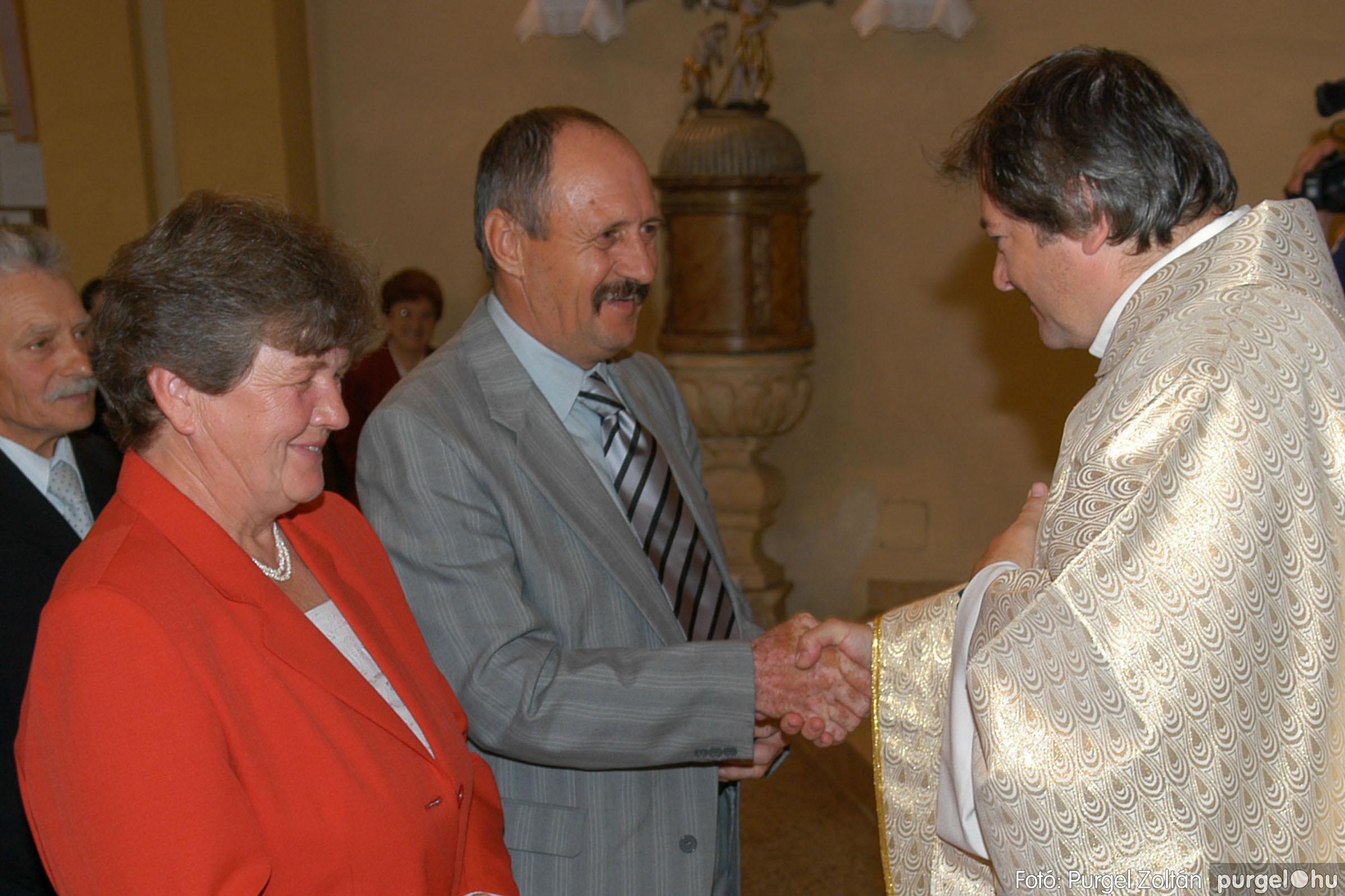 2007.09.30. 093 Kisboldogasszony Templom házassági évfordulók - Fotó:PURGEL ZOLTÁN© DSC_0214q.jpg