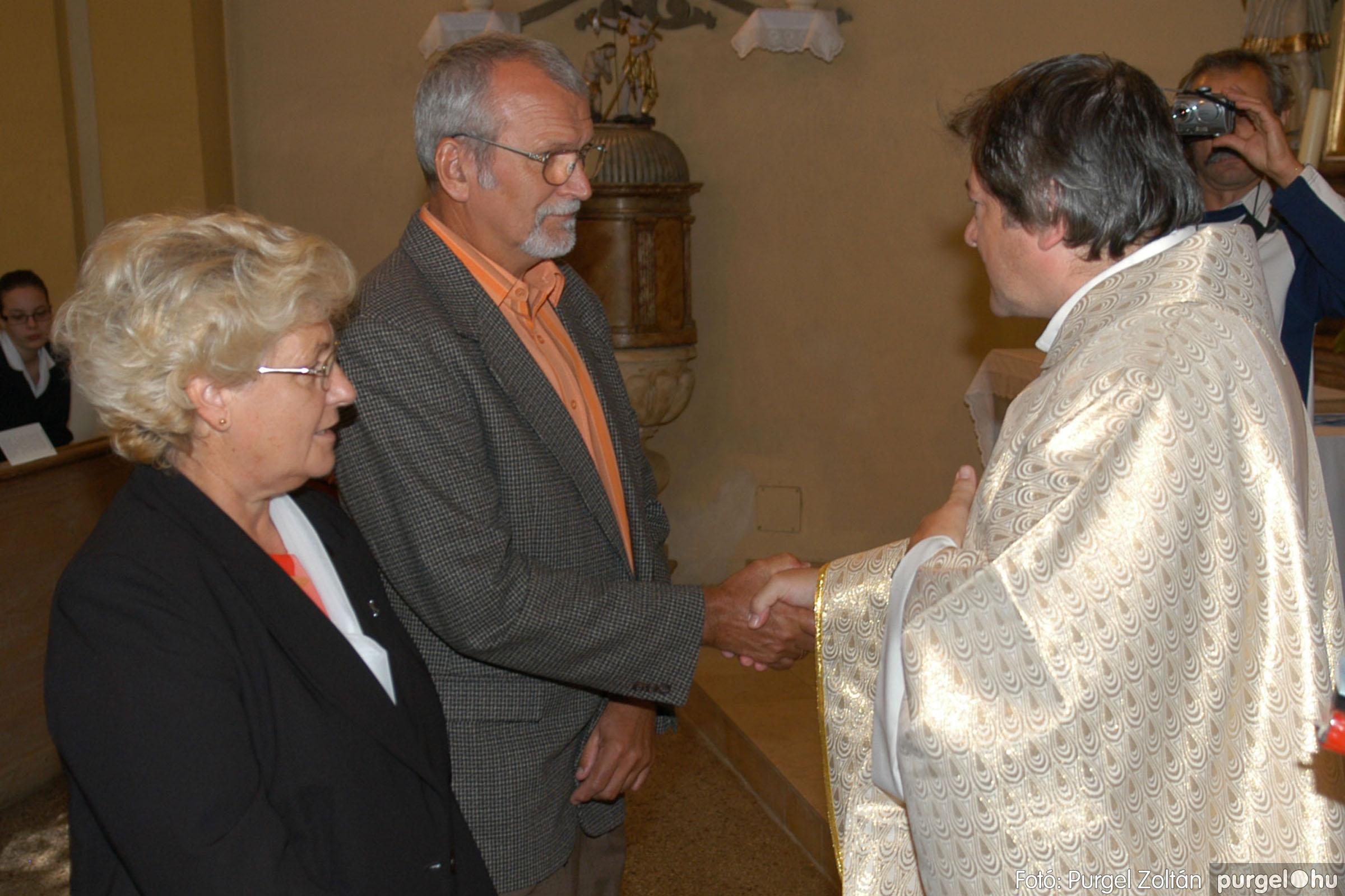 2007.09.30. 089 Kisboldogasszony Templom házassági évfordulók - Fotó:PURGEL ZOLTÁN© DSC_0210q.jpg