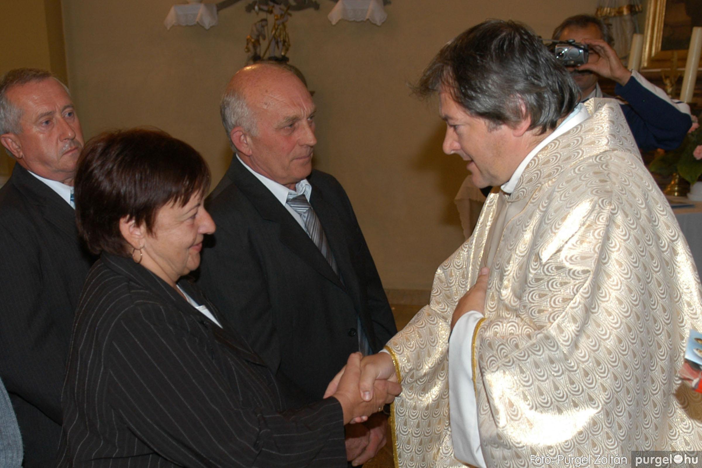 2007.09.30. 084 Kisboldogasszony Templom házassági évfordulók - Fotó:PURGEL ZOLTÁN© DSC_0204q.jpg