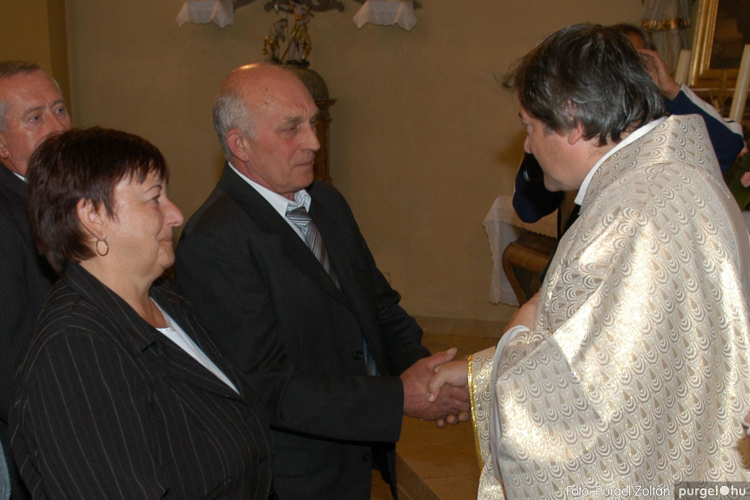2007.09.30. 083 Kisboldogasszony Templom házassági évfordulók - Fotó:PURGEL ZOLTÁN© DSC_0203q.jpg