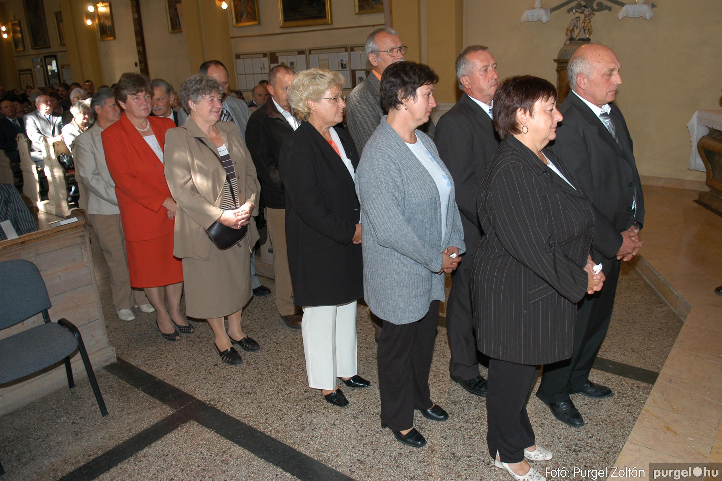 2007.09.30. 082 Kisboldogasszony Templom házassági évfordulók - Fotó:PURGEL ZOLTÁN© DSC_0202q.jpg