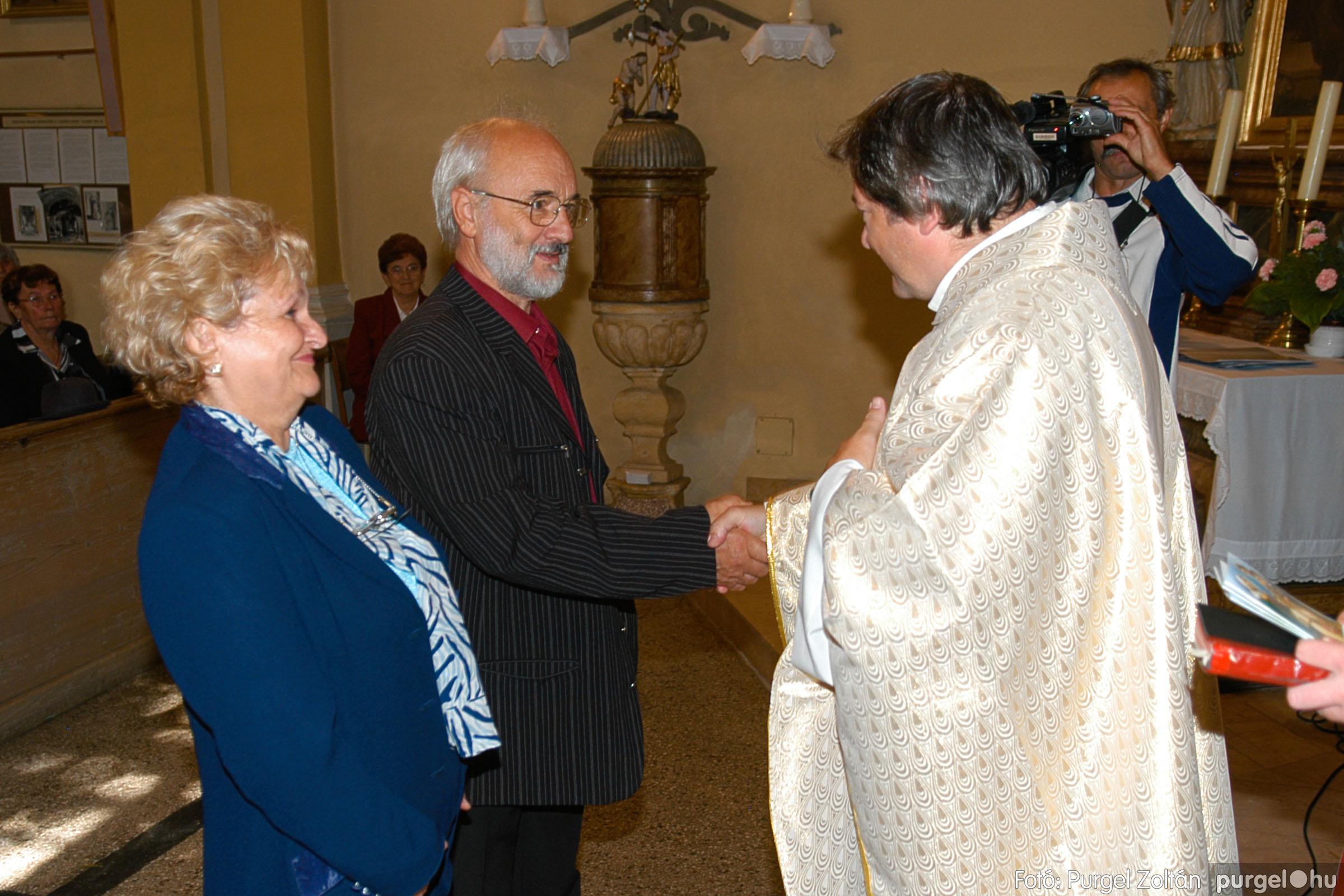 2007.09.30. 080 Kisboldogasszony Templom házassági évfordulók - Fotó:PURGEL ZOLTÁN© DSC_0200q.jpg
