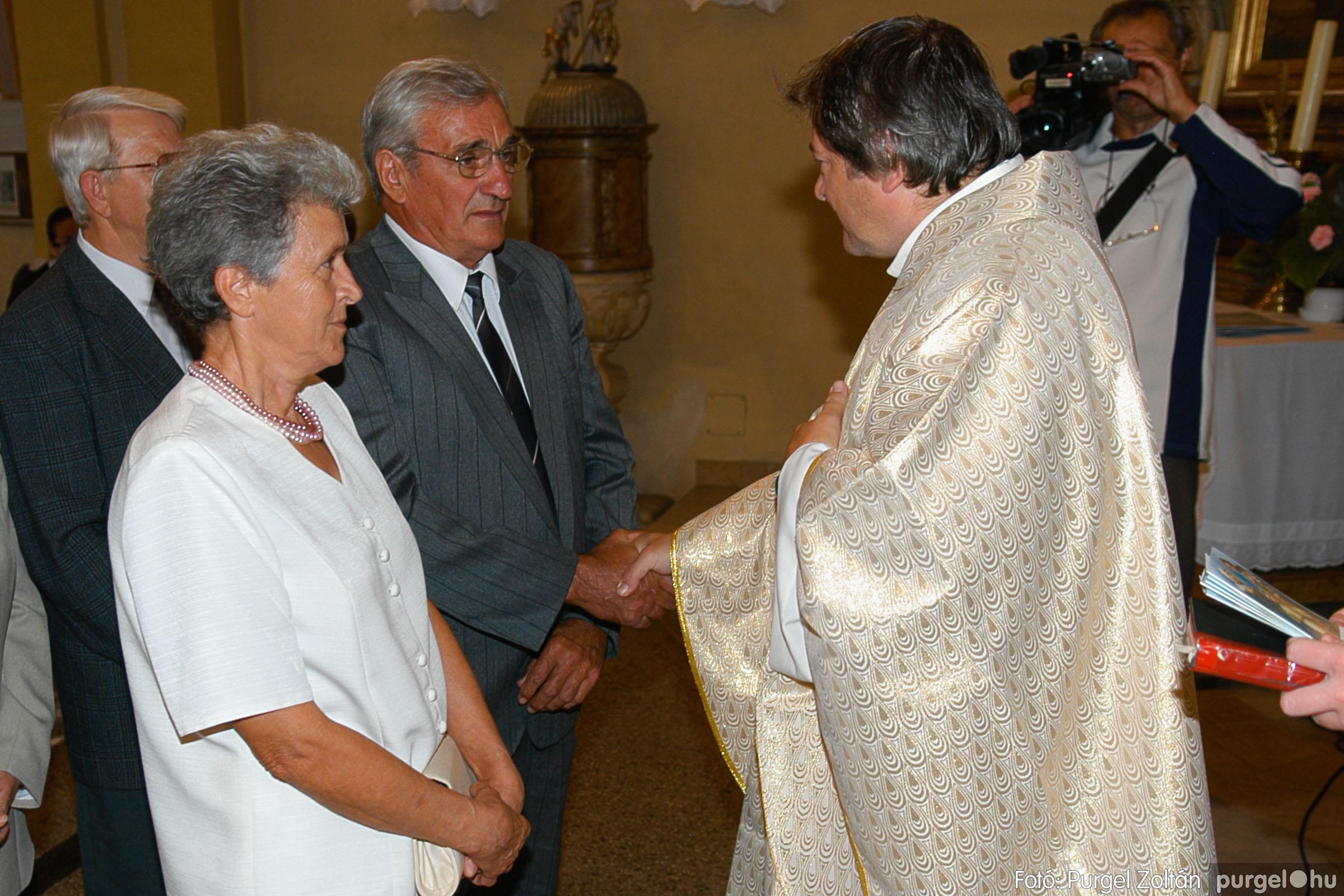 2007.09.30. 076 Kisboldogasszony Templom házassági évfordulók - Fotó:PURGEL ZOLTÁN© DSC_0196q.jpg