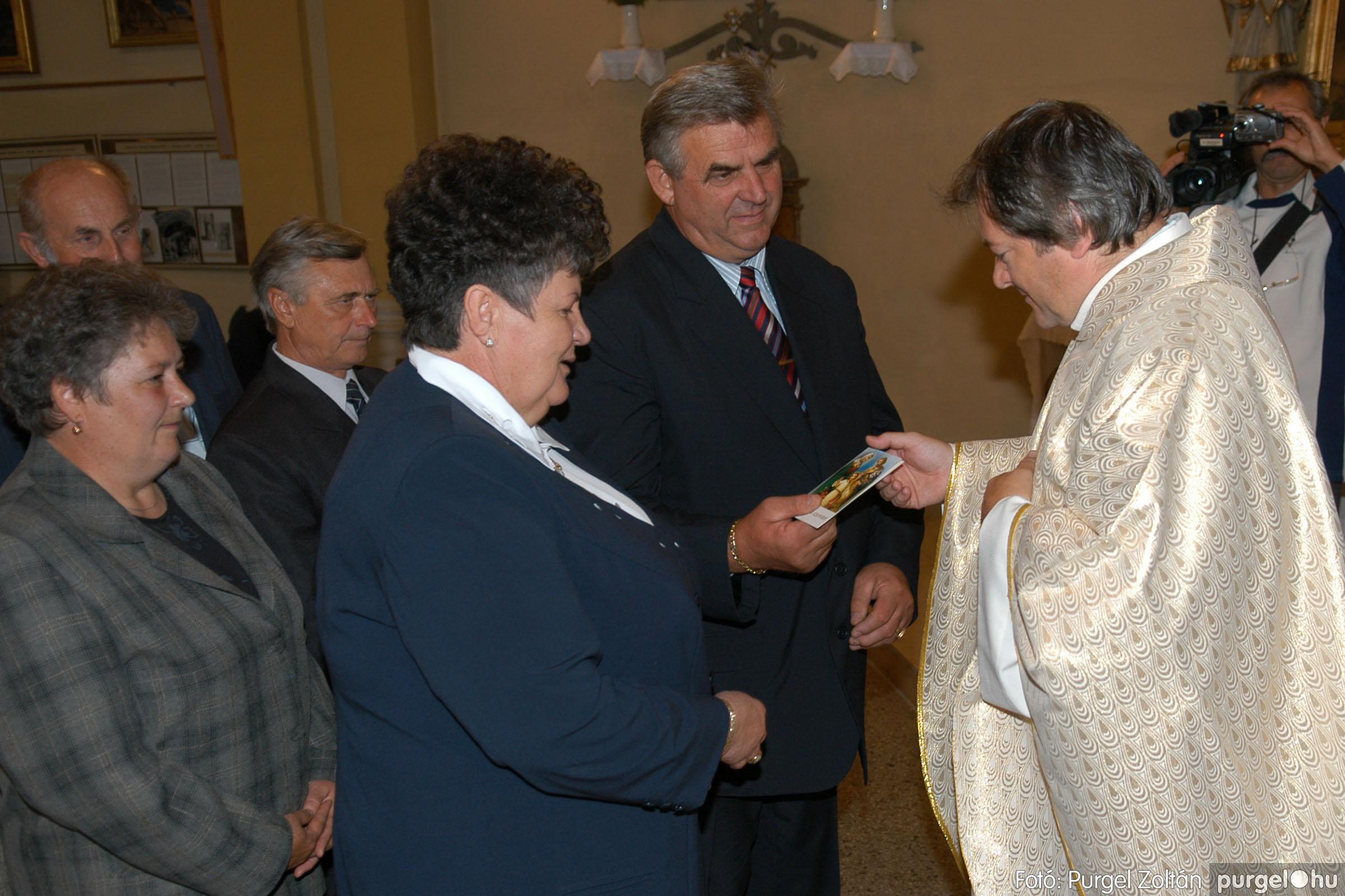 2007.09.30. 066 Kisboldogasszony Templom házassági évfordulók - Fotó:PURGEL ZOLTÁN© DSC_0186q.jpg