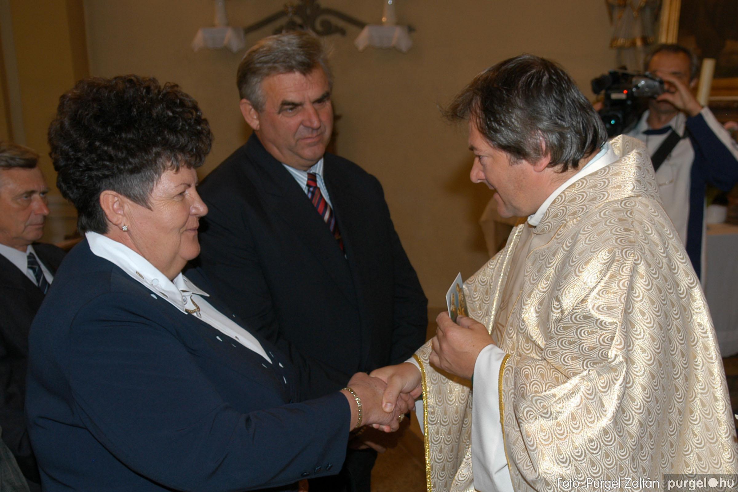 2007.09.30. 064 Kisboldogasszony Templom házassági évfordulók - Fotó:PURGEL ZOLTÁN© DSC_0183q.jpg
