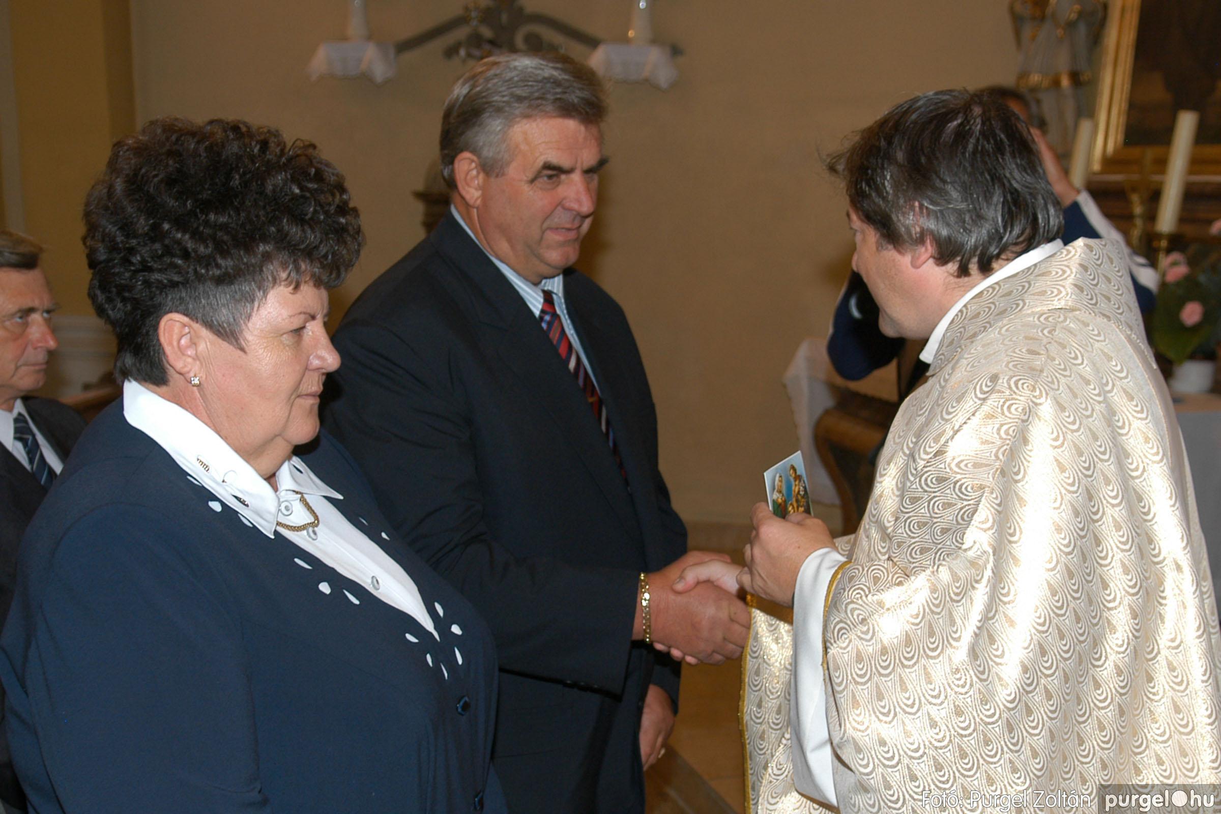 2007.09.30. 063 Kisboldogasszony Templom házassági évfordulók - Fotó:PURGEL ZOLTÁN© DSC_0179q.jpg