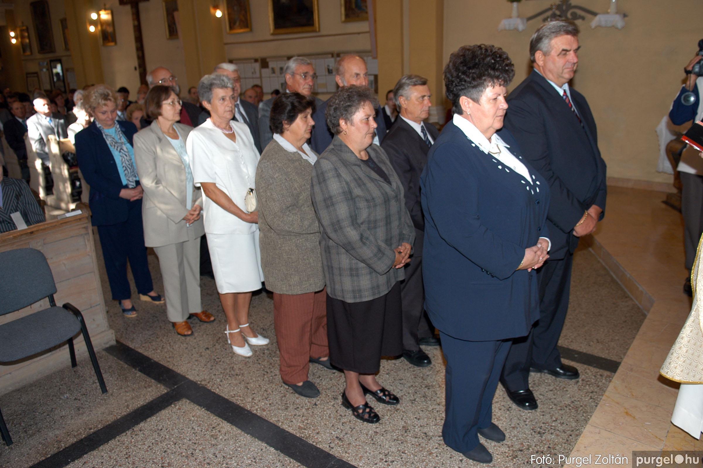 2007.09.30. 061 Kisboldogasszony Templom házassági évfordulók - Fotó:PURGEL ZOLTÁN© DSC_0176q.jpg