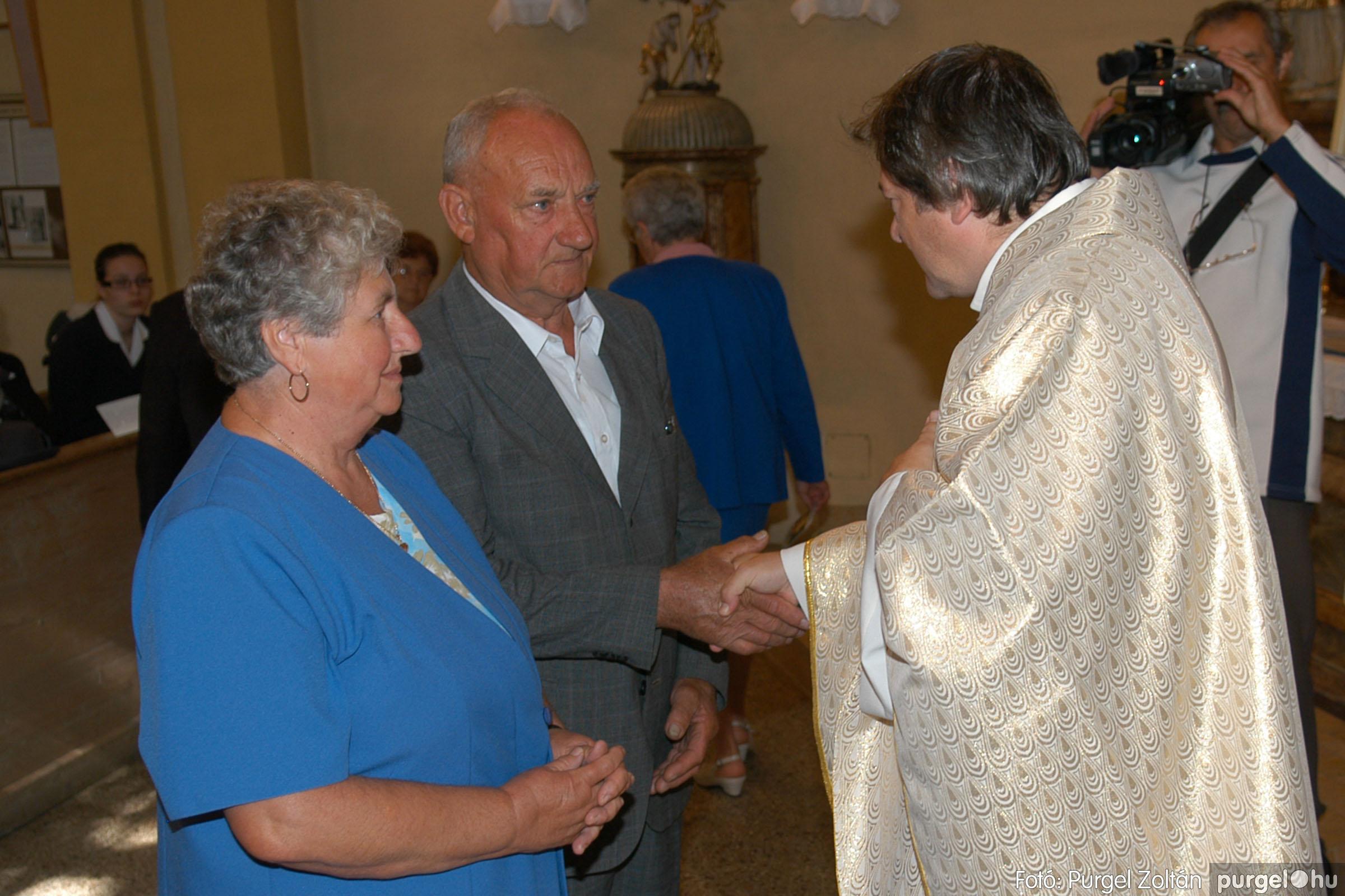 2007.09.30. 059 Kisboldogasszony Templom házassági évfordulók - Fotó:PURGEL ZOLTÁN© DSC_0171q.jpg