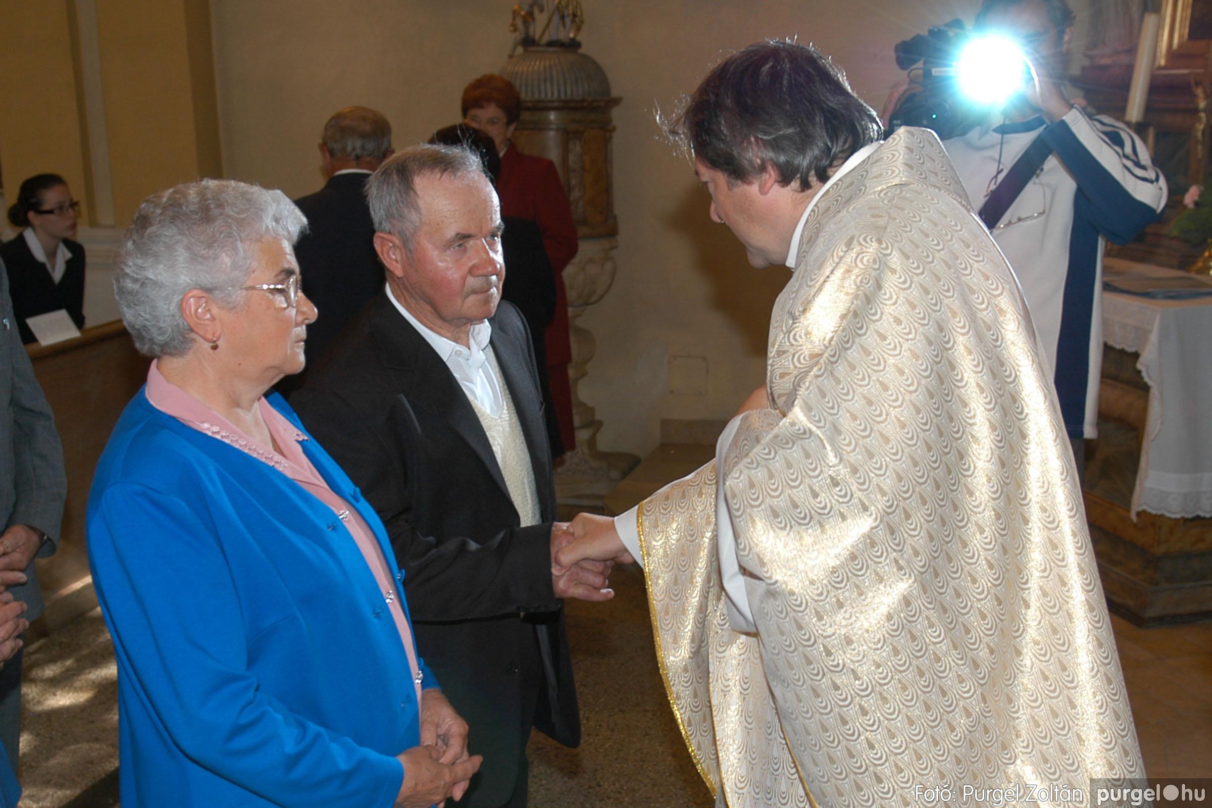 2007.09.30. 057 Kisboldogasszony Templom házassági évfordulók - Fotó:PURGEL ZOLTÁN© DSC_0169q.jpg