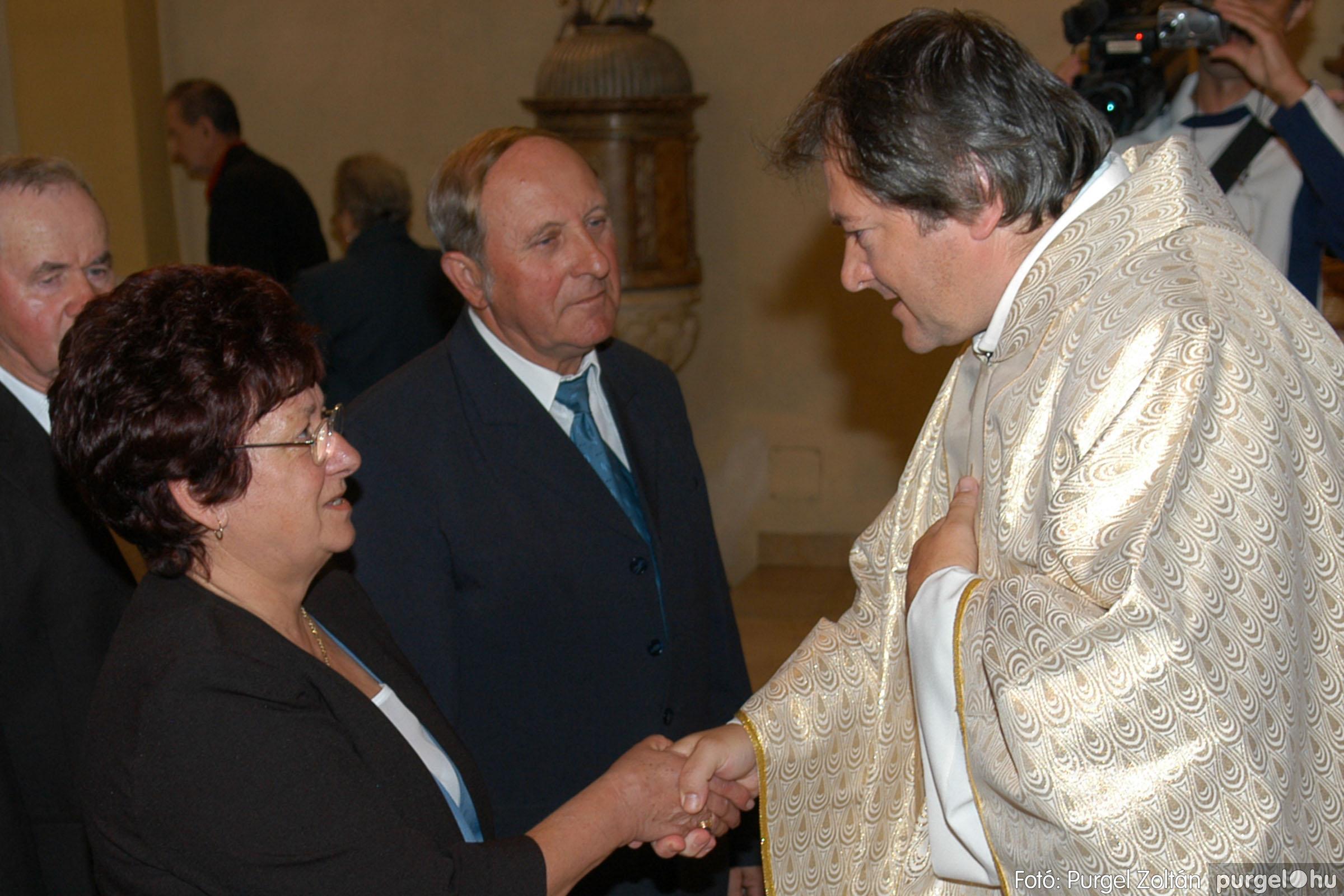 2007.09.30. 056 Kisboldogasszony Templom házassági évfordulók - Fotó:PURGEL ZOLTÁN© DSC_0168q.jpg