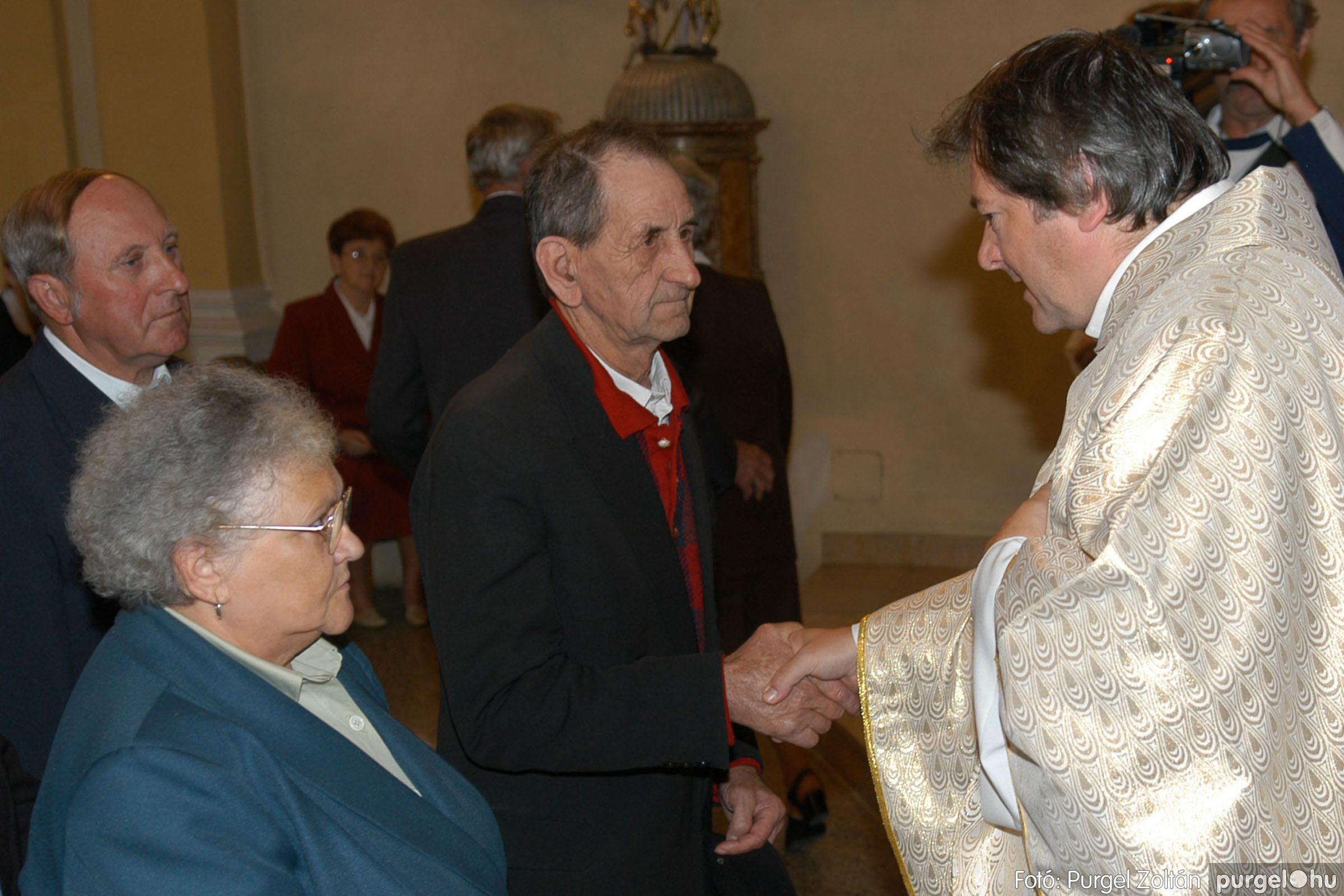 2007.09.30. 053 Kisboldogasszony Templom házassági évfordulók - Fotó:PURGEL ZOLTÁN© DSC_0165q.jpg