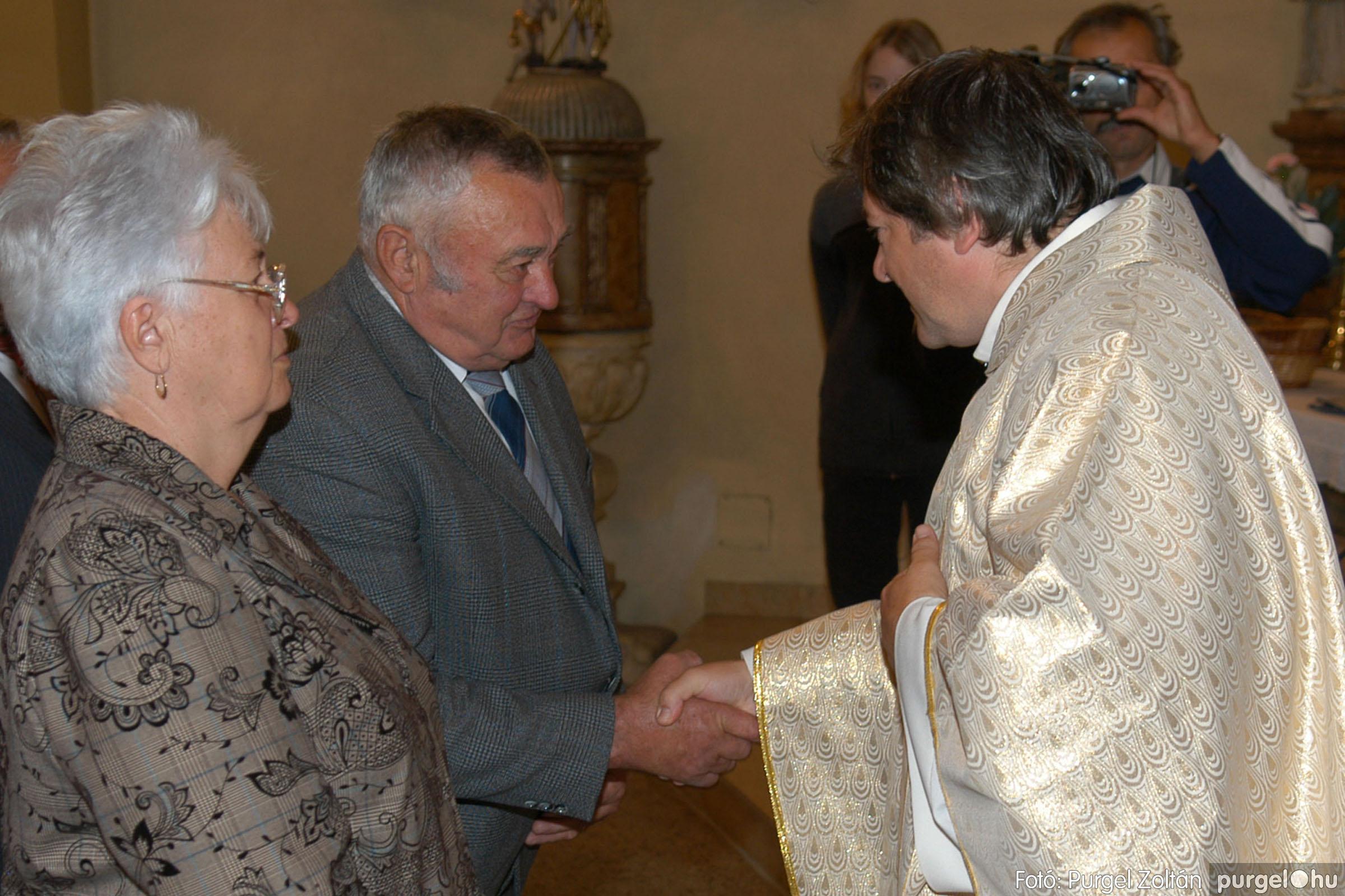 2007.09.30. 049 Kisboldogasszony Templom házassági évfordulók - Fotó:PURGEL ZOLTÁN© DSC_0161q.jpg