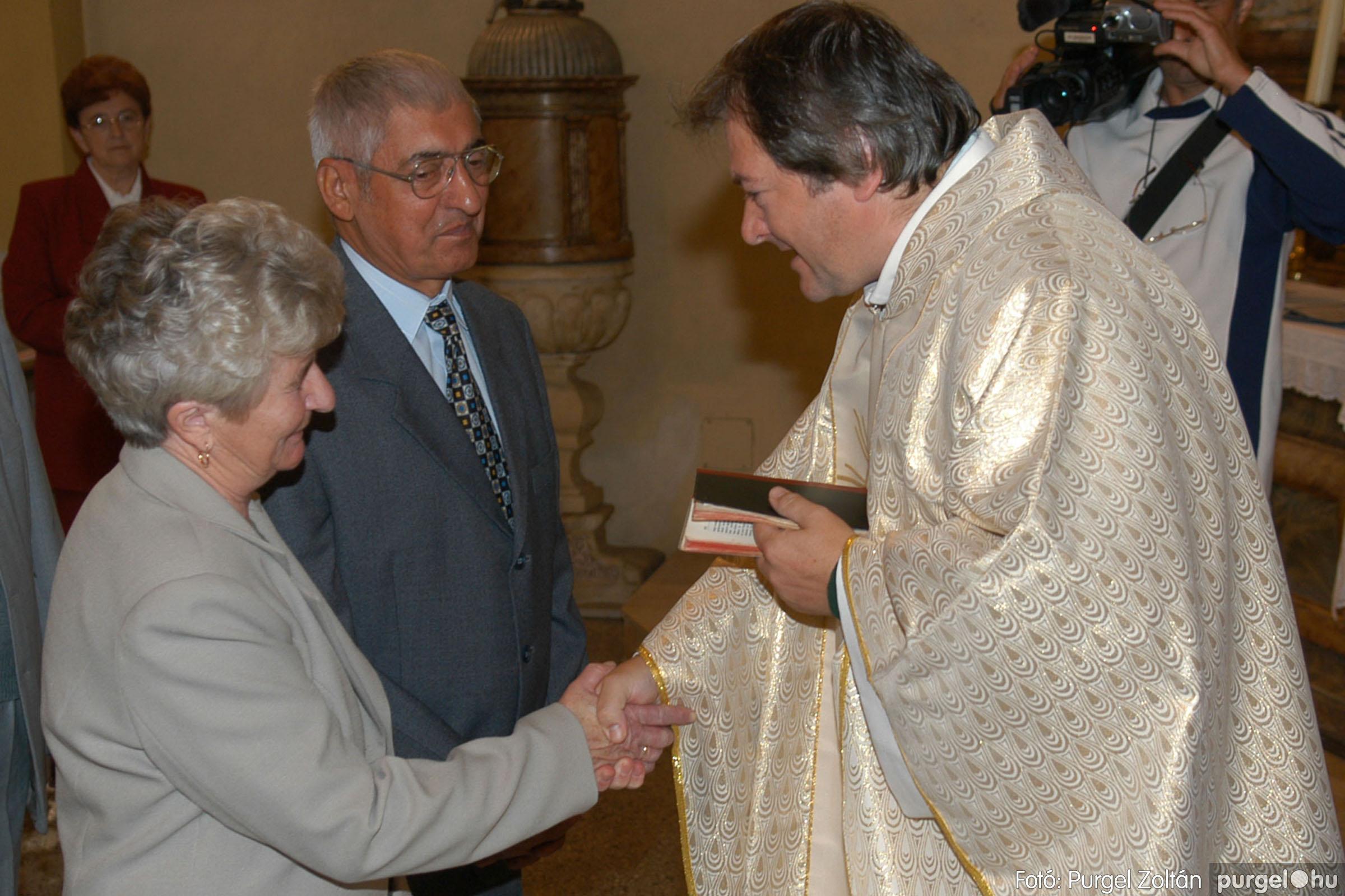 2007.09.30. 044 Kisboldogasszony Templom házassági évfordulók - Fotó:PURGEL ZOLTÁN© DSC_0156q.jpg