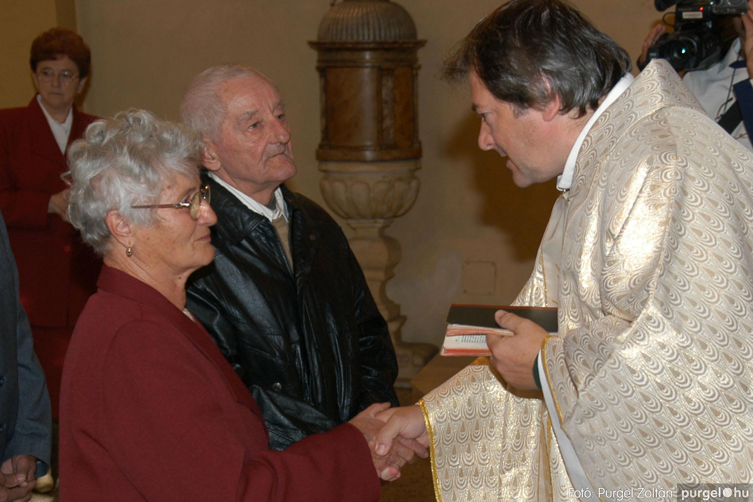 2007.09.30. 042 Kisboldogasszony Templom házassági évfordulók - Fotó:PURGEL ZOLTÁN© DSC_0154q.jpg