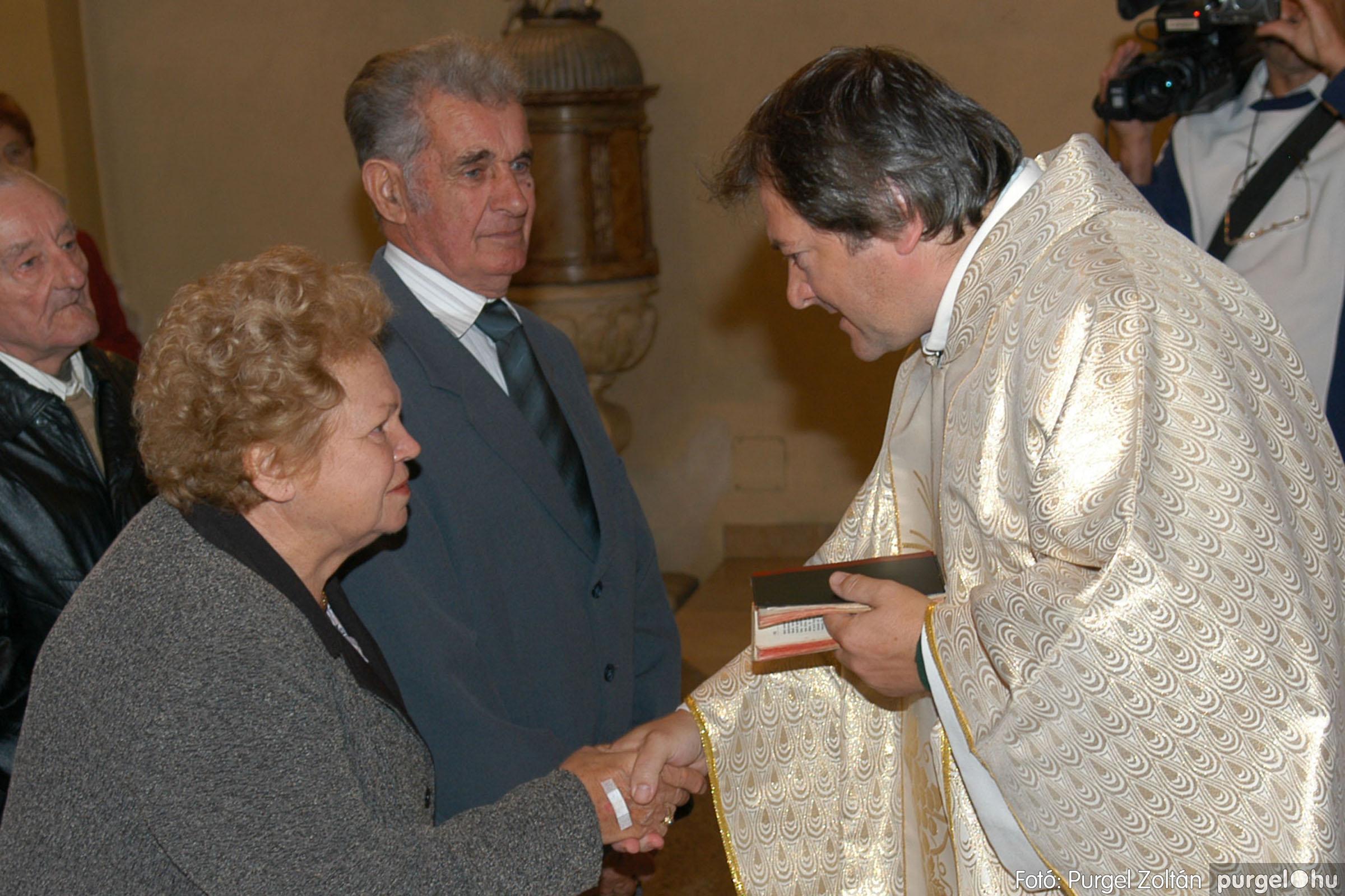 2007.09.30. 040 Kisboldogasszony Templom házassági évfordulók - Fotó:PURGEL ZOLTÁN© DSC_0152q.jpg