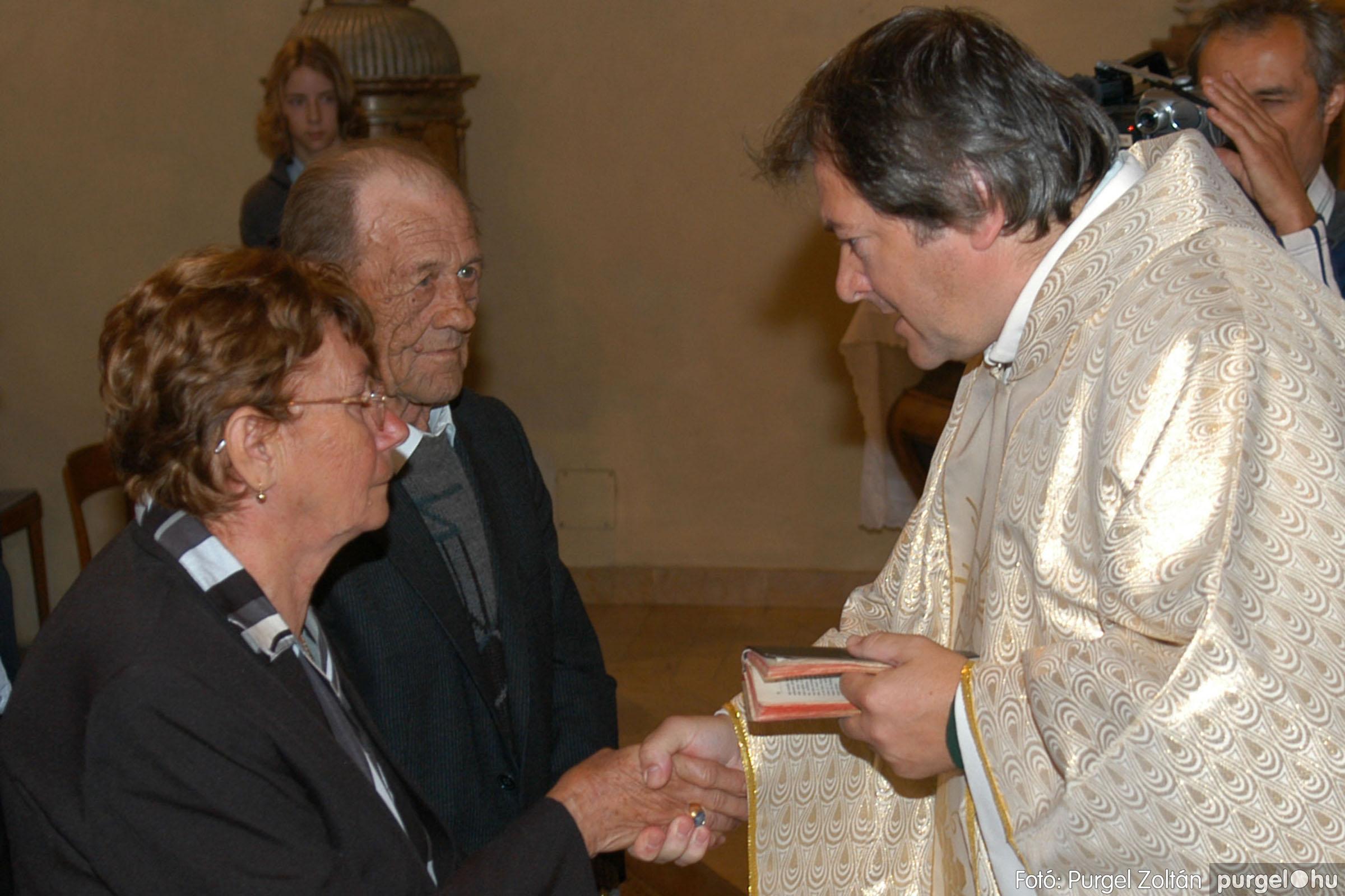 2007.09.30. 034 Kisboldogasszony Templom házassági évfordulók - Fotó:PURGEL ZOLTÁN© DSC_0146q.jpg