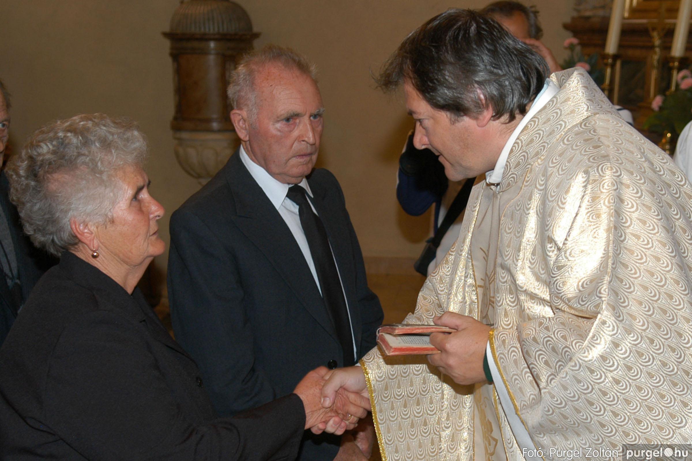 2007.09.30. 032 Kisboldogasszony Templom házassági évfordulók - Fotó:PURGEL ZOLTÁN© DSC_0144q.jpg