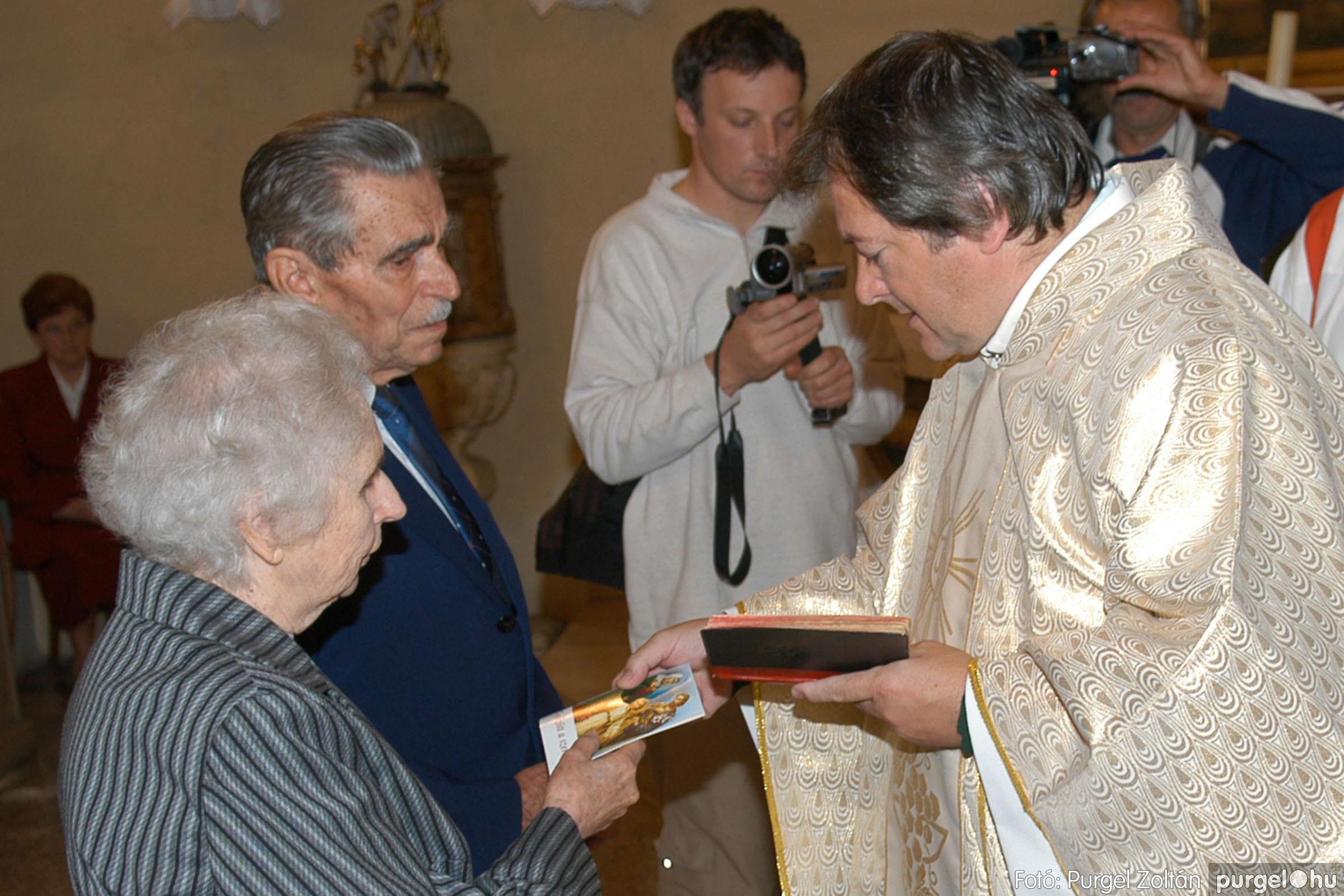 2007.09.30. 024 Kisboldogasszony Templom házassági évfordulók - Fotó:PURGEL ZOLTÁN© DSC_0136q.jpg