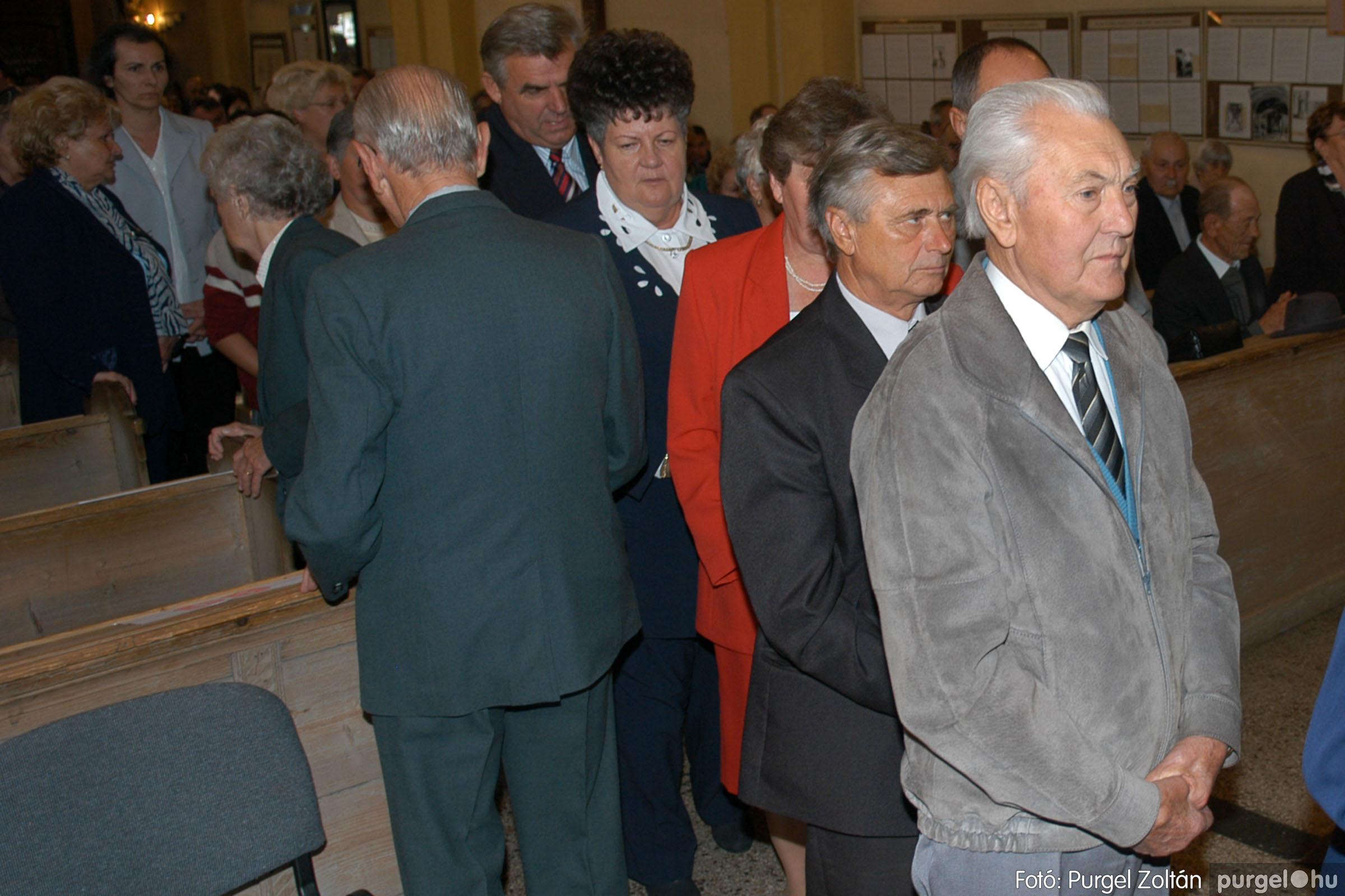 2007.09.30. 014 Kisboldogasszony Templom házassági évfordulók - Fotó:PURGEL ZOLTÁN© DSC_0107q.jpg